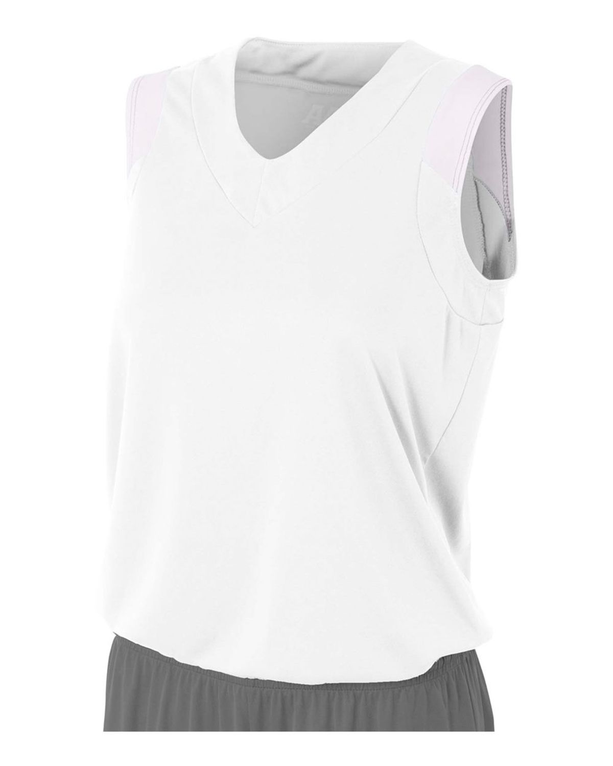 A4 NW2340 Women's Moisture Management V-Neck Muscle