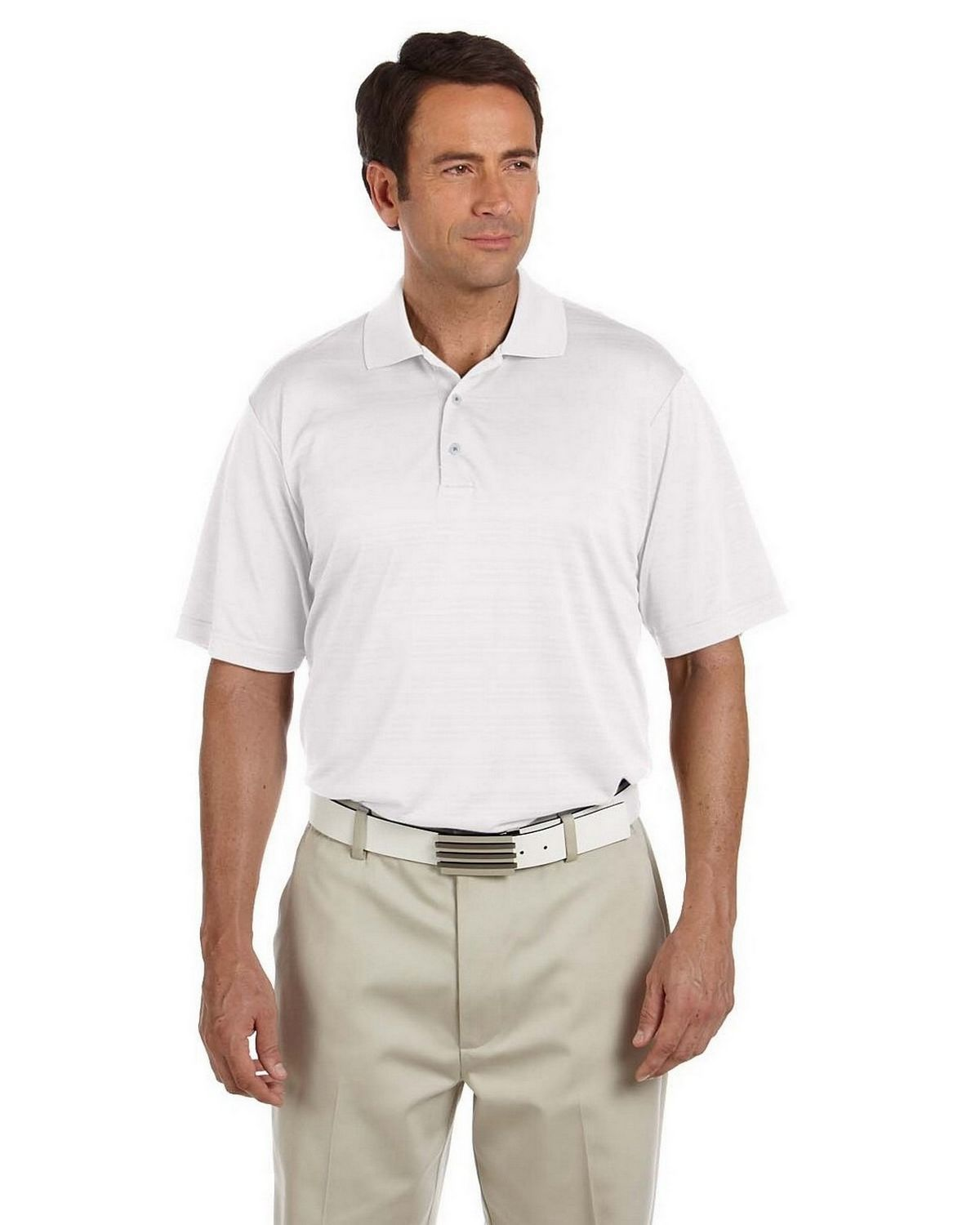 855e7a3f Buy Adidas Golf A161 Men's ClimaLite Textured Short-Sleeve Polo