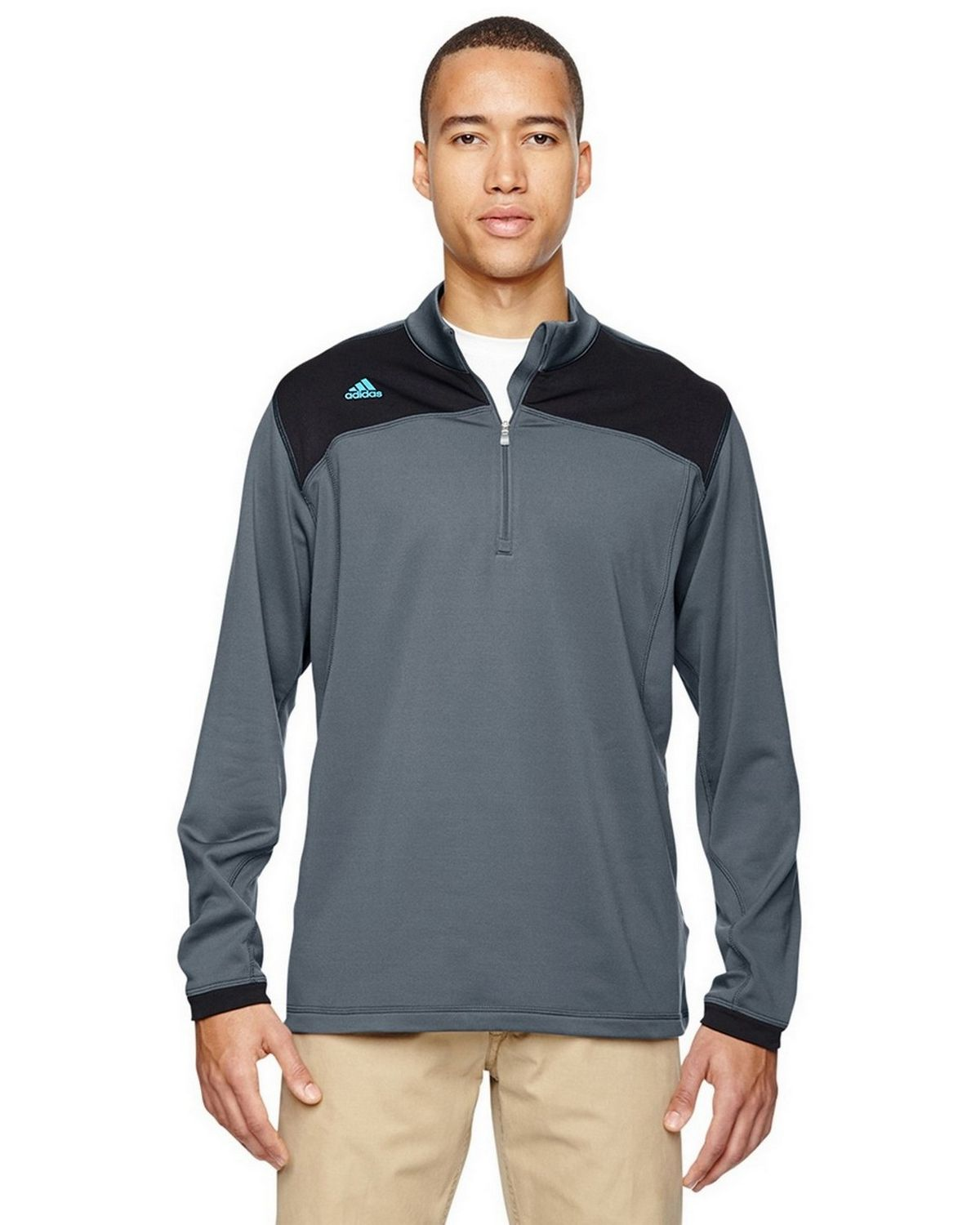 Adidas Golf A201 Men's Climawarm Plus Half Zip Pullover