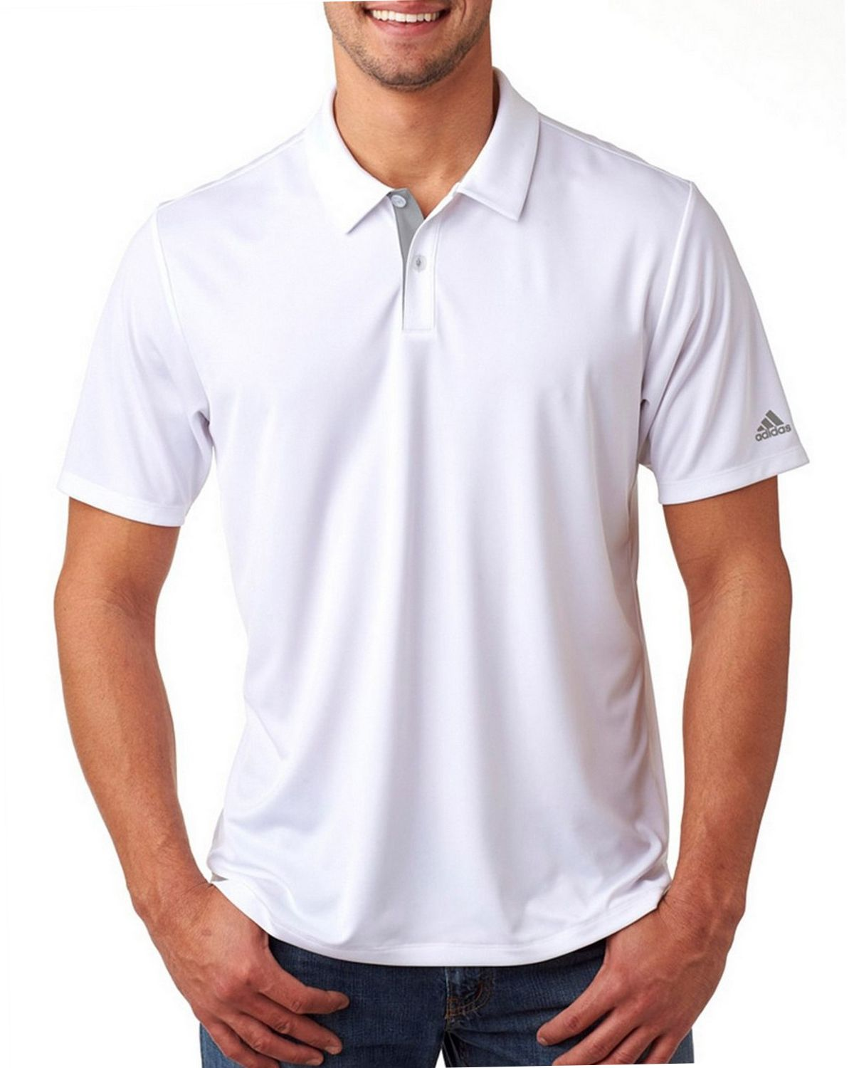 adidas 3 stripes polo