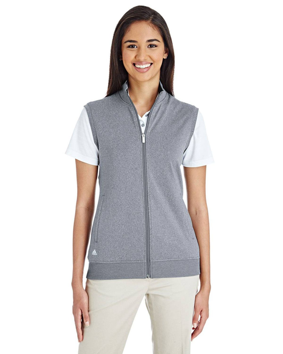 Adidas Golf A272 Women's Full-Zip Club Vest