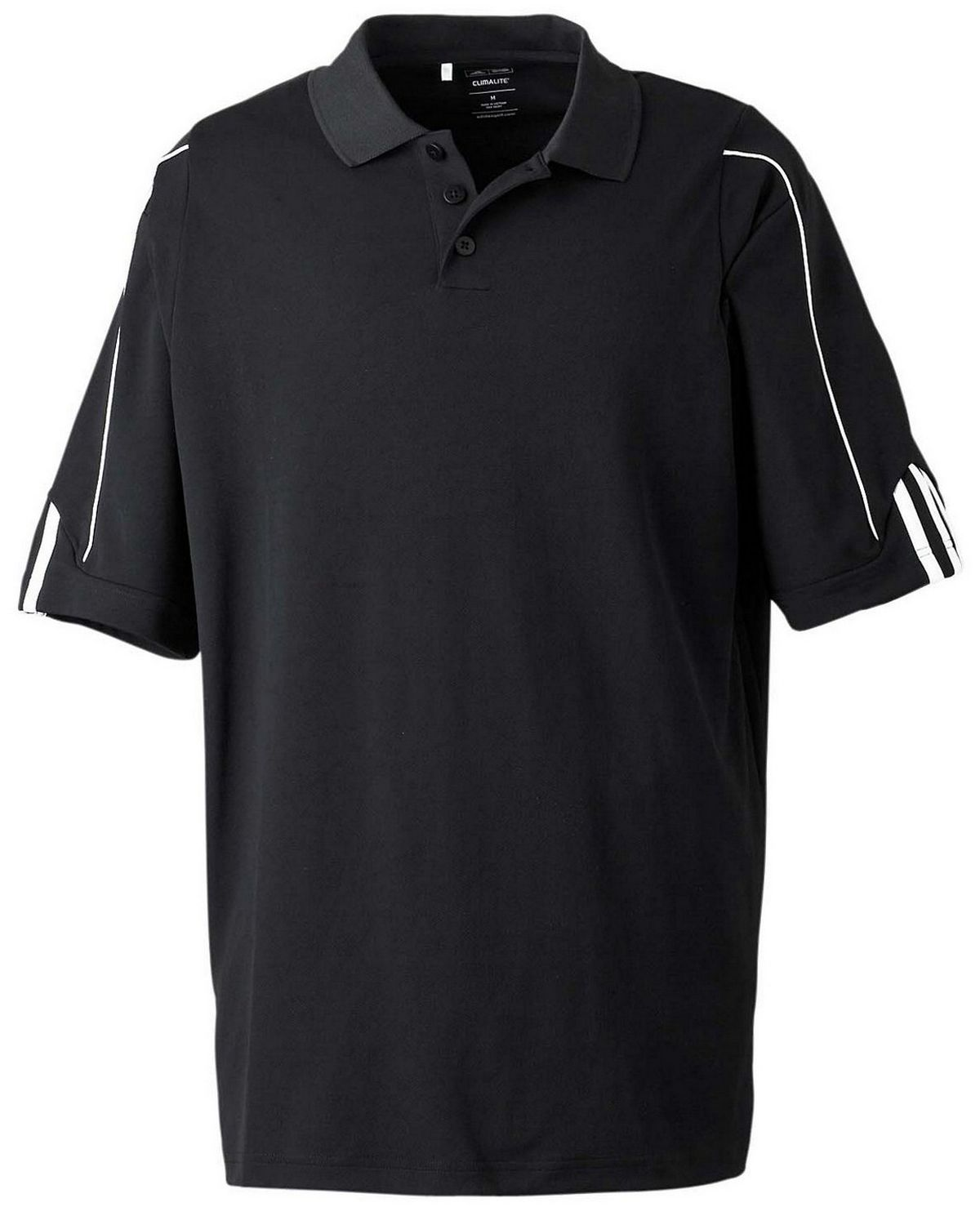 premium selection f4c2d 3ccaa Buy Adidas Golf A76 Men s ClimaLite 3-Stripes Cuff Polo
