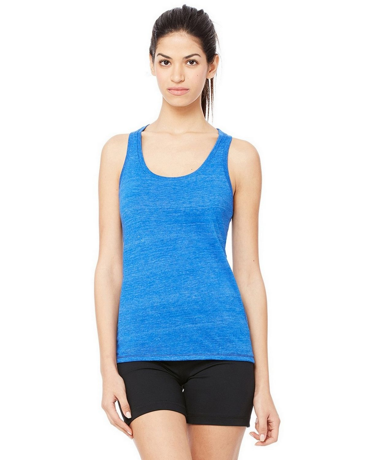 All Sport W2170 Women's Performance Triblend Racerback Tank