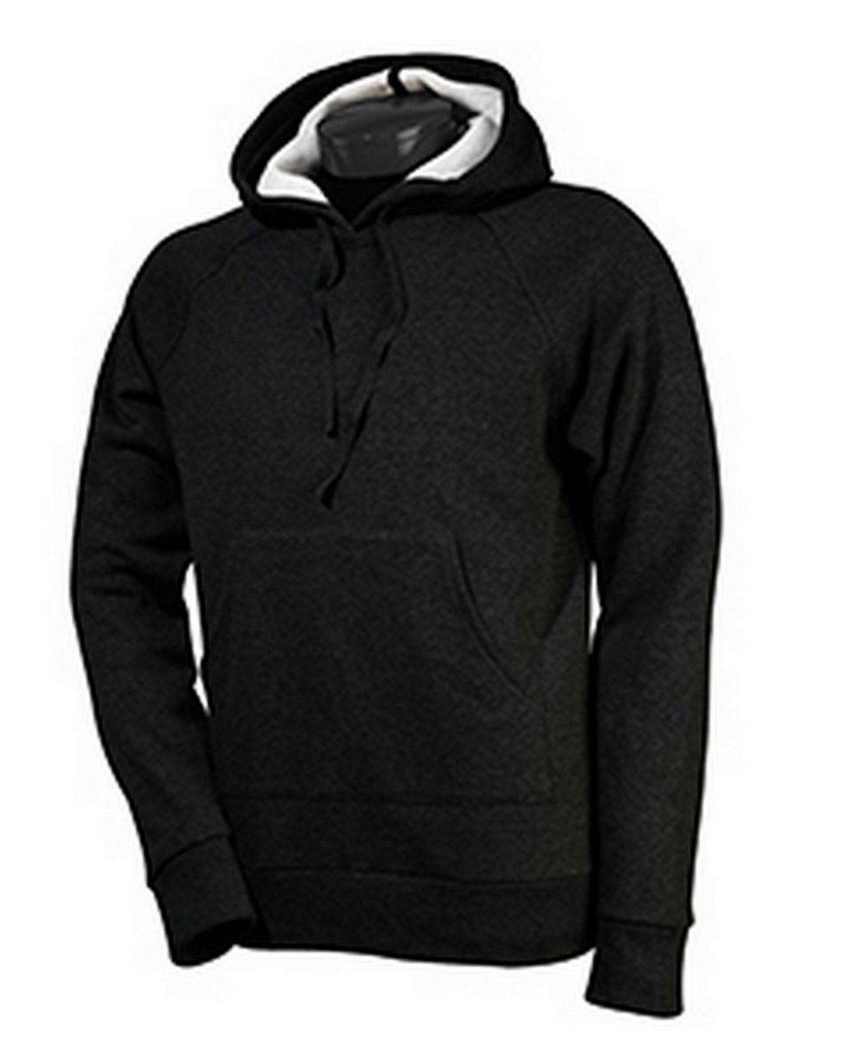All Sport M4030 Performance Fleece Pullover Hoodie - Dark Grey Heather - XS M4030
