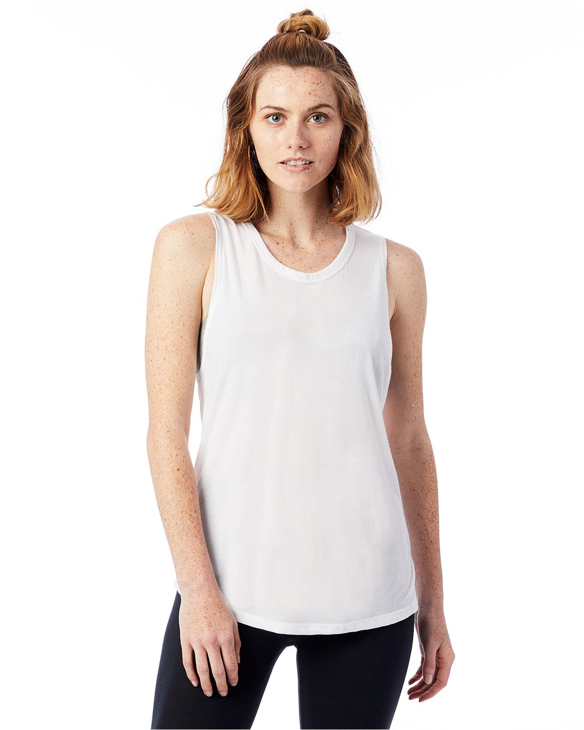 Alternative 3095B2 Women's Slinky Muscle Tank