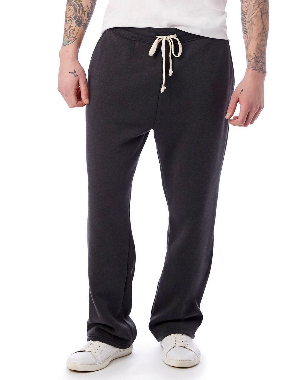 Alternative 3500F2 Men's Hustle Eco-Fleece Open Bottom Sweatpants