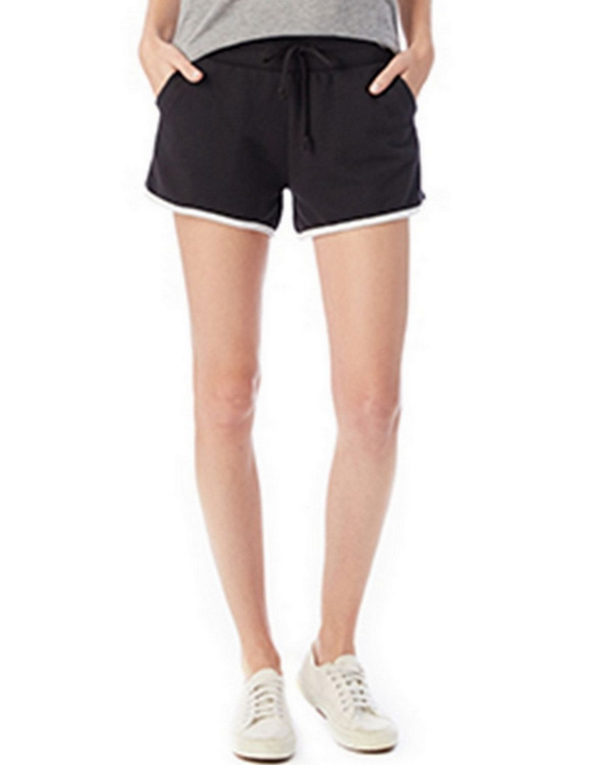 Alternative 5078BT Women's French Terry Track Short