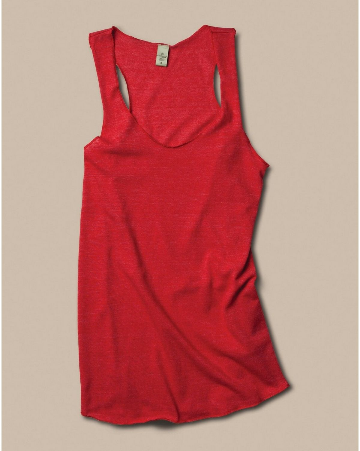 Alternative AA1927 Meegs Racerback Tank - Eco True Red - XL AA1927