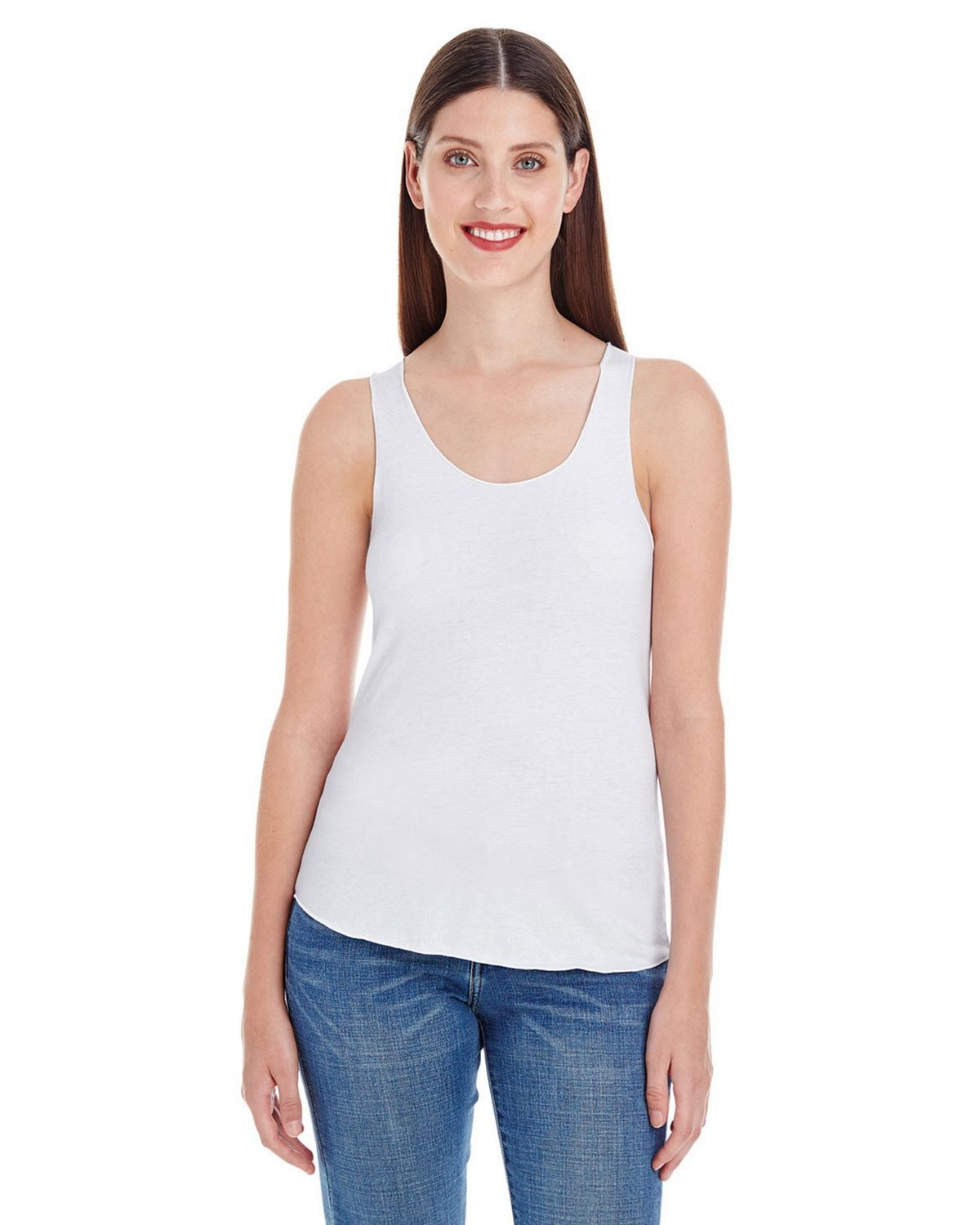 American Apparel BB308W Women's Poly-Cotton Racerback Tank Top