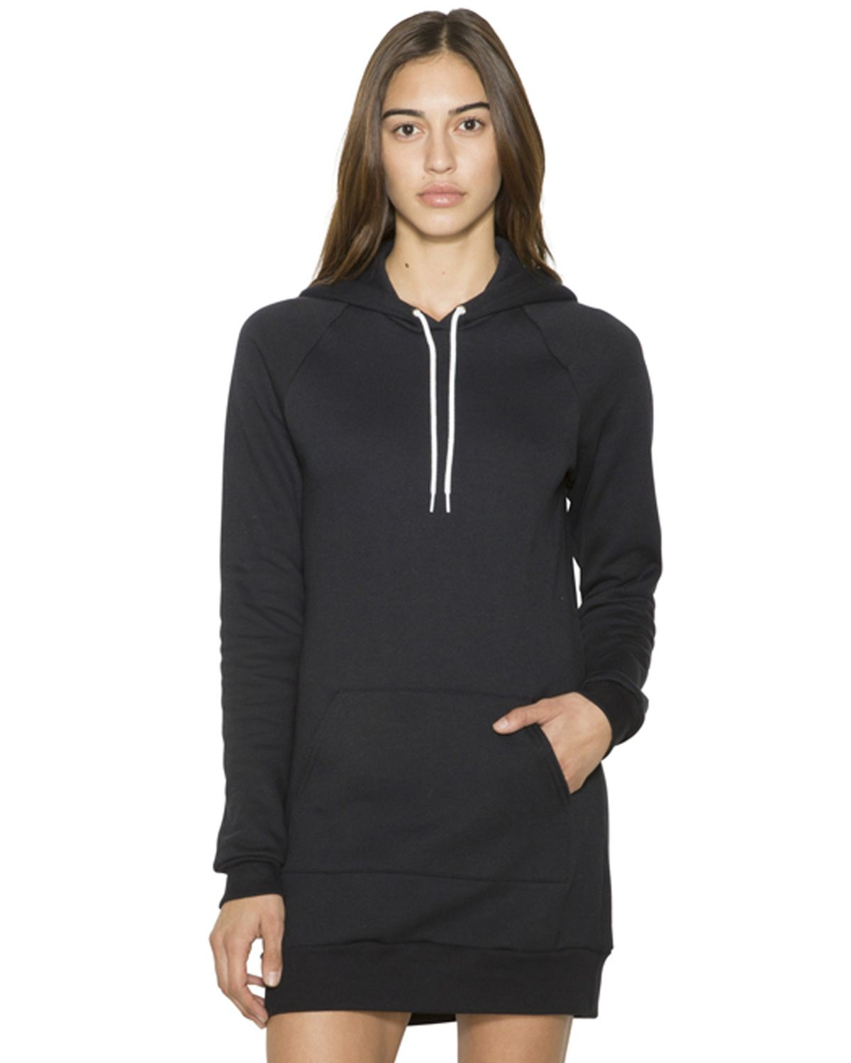 American Apparel SAF398W Women's Flex Fleece Hooded Dress