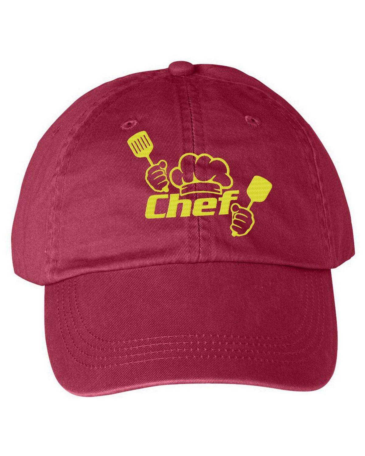 dee31c4942a31 Logo Embroidered Anvil 146 Solid Pigment Dye Cap