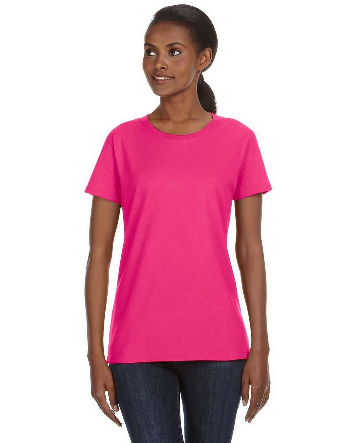 Anvil 780L Women's Ringspun Midweight Mid Scoop T Shirt
