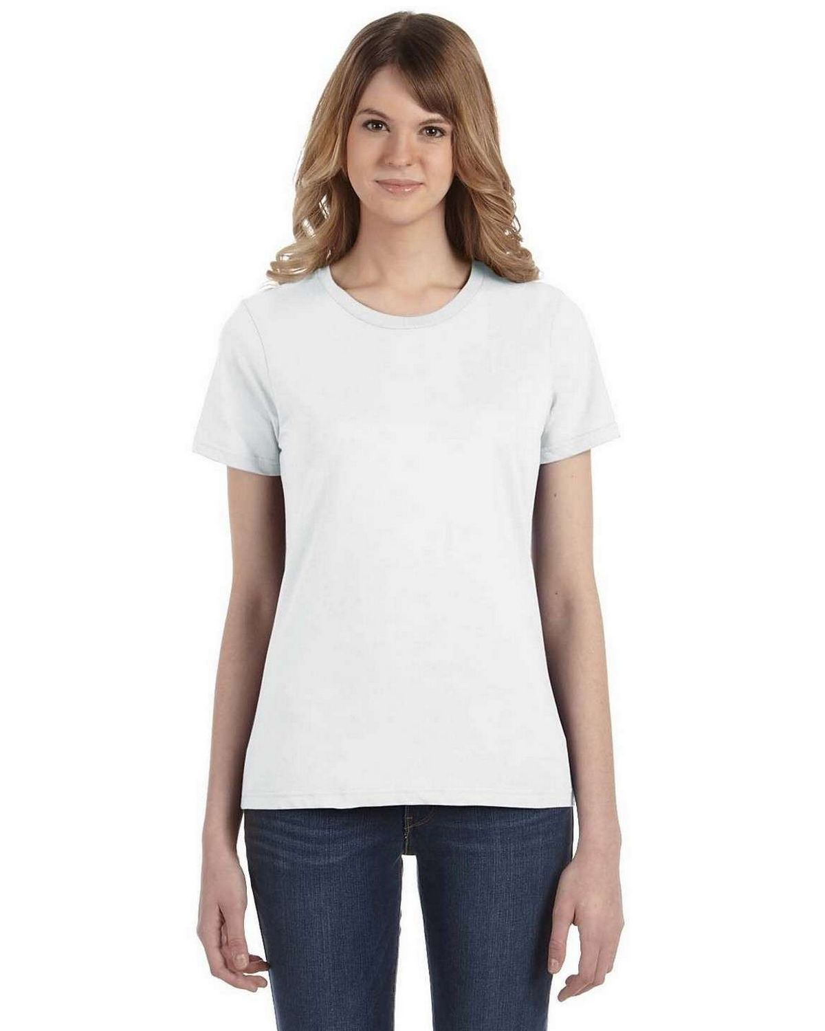 Anvil 880 Women's Ringspun Cotton Fashion Fit T-Shirt