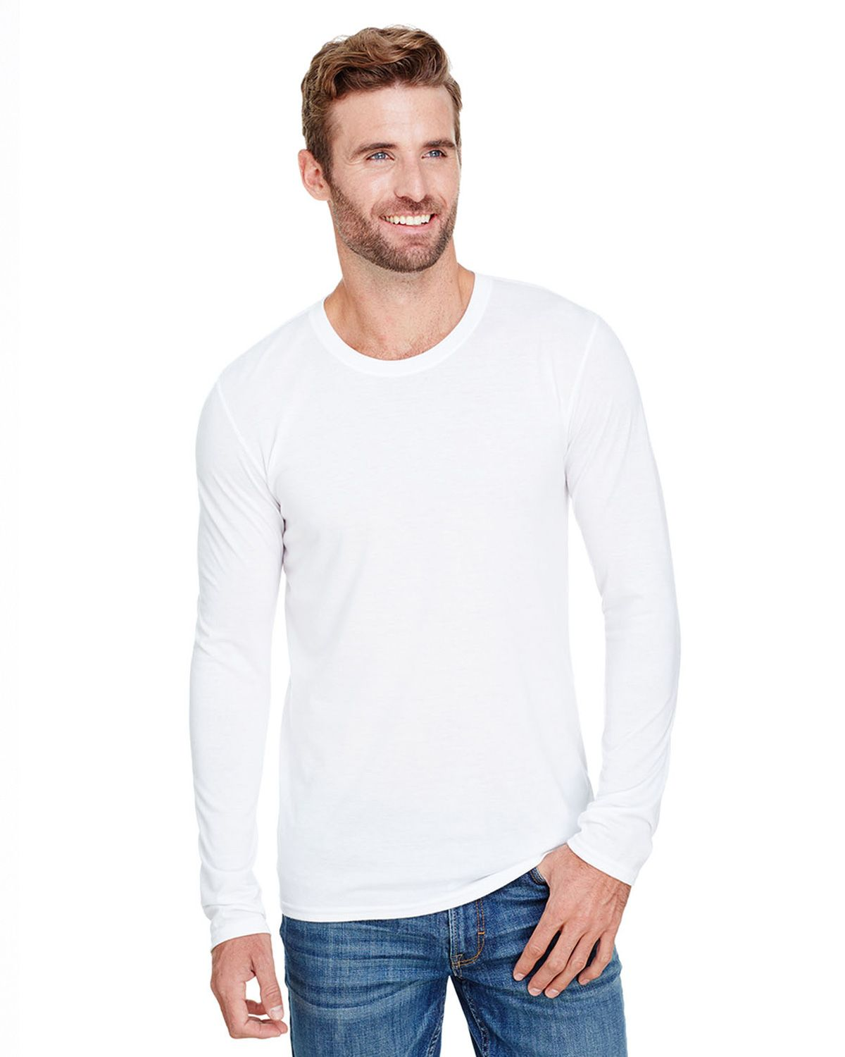 Anvil AN6740 Men's Tri-Blend Long-Sleeve T-Shirt