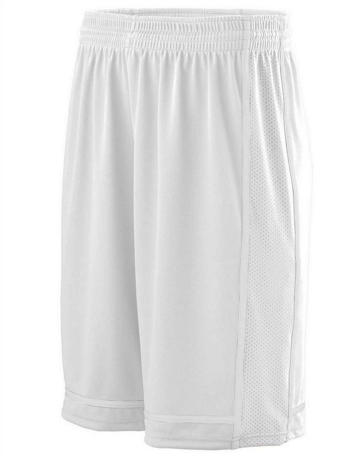 Augusta Sportswear 1185 Men's Wicking Polyester Shorts with Mesh Inserts
