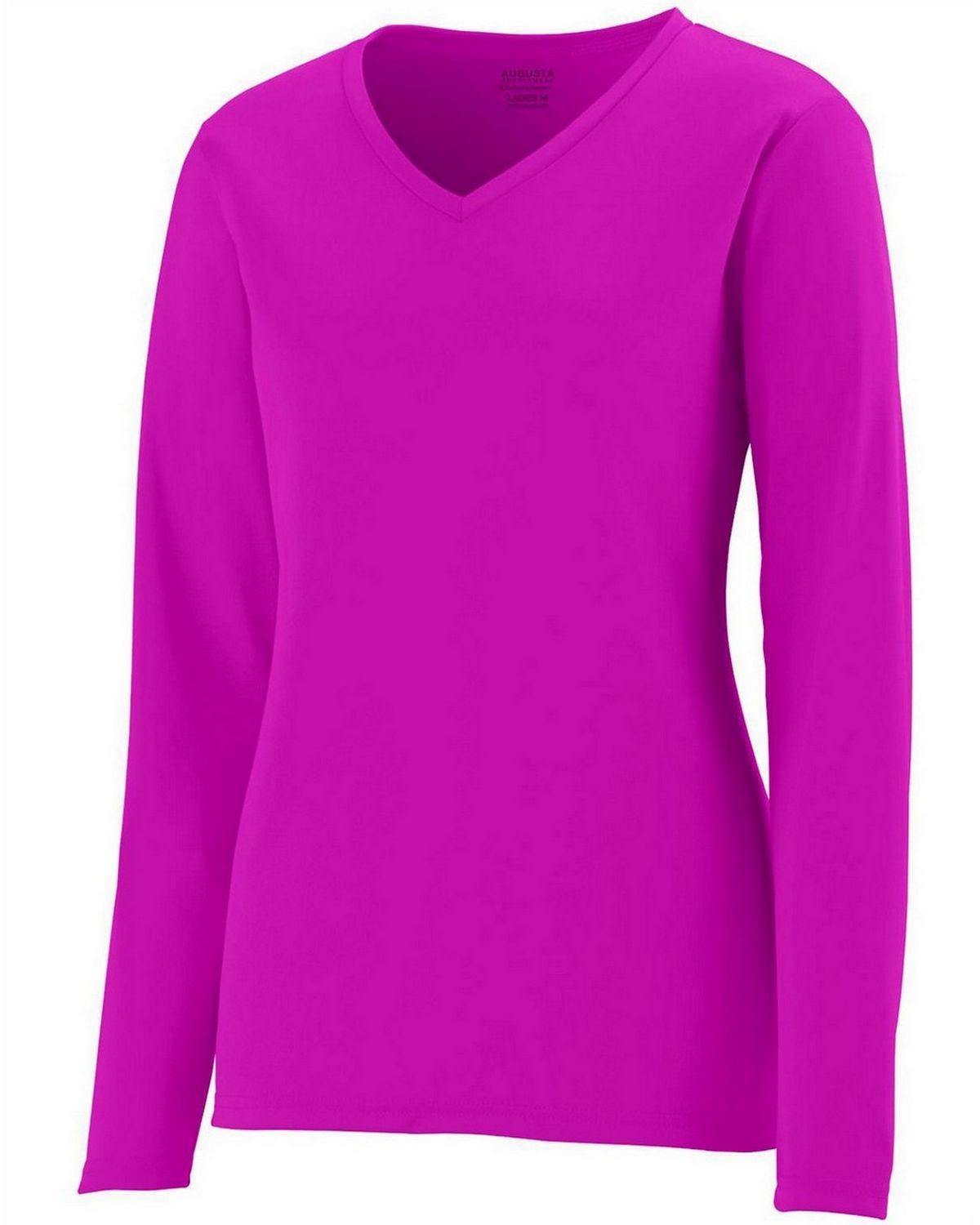 Augusta Sportswear 1788 Long-Sleeve Jersey - Power Pink - L 1788