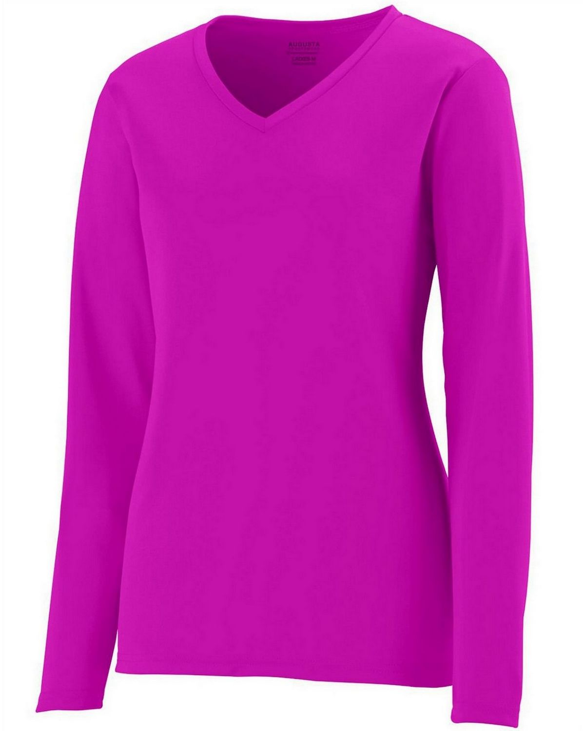 Augusta Sportswear 1789 Long-Sleeve Jersey - Power Pink - L 1789