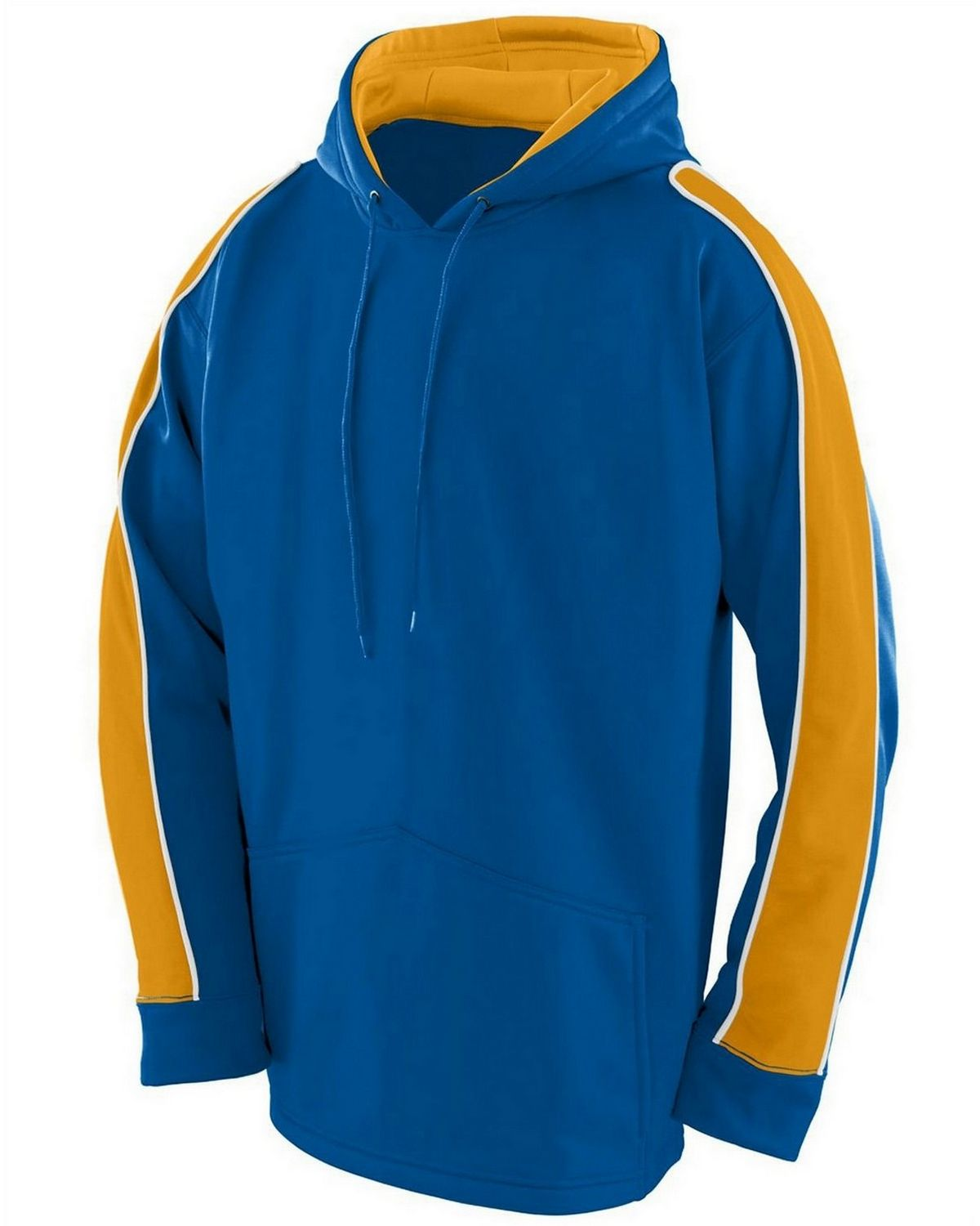Augusta Sportswear 5524 Fleece Hoody - Royal/Gold/White - L 5524