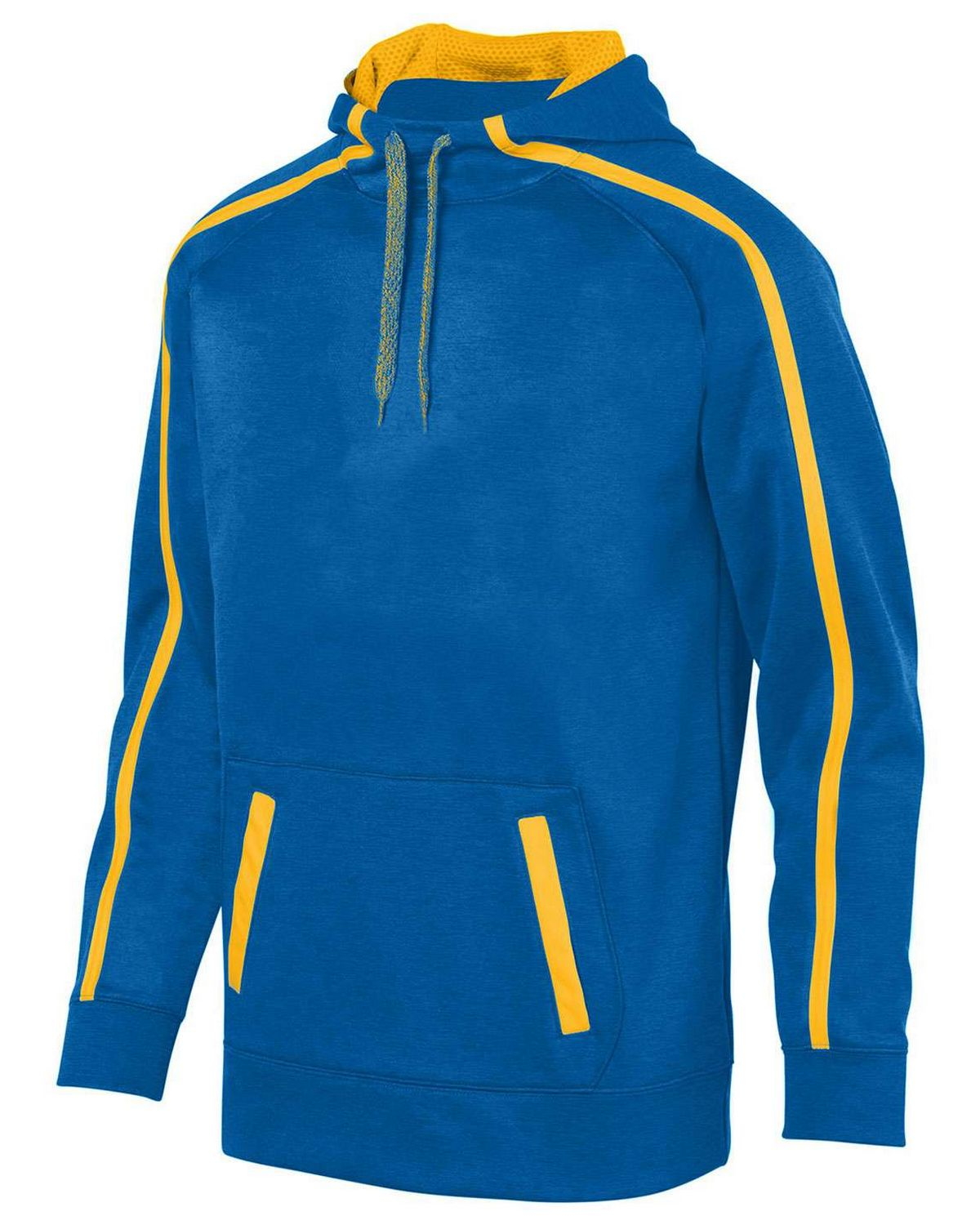 Augusta Sportswear 5555 Youth Hoodie - Royal/ Gold - L 5555