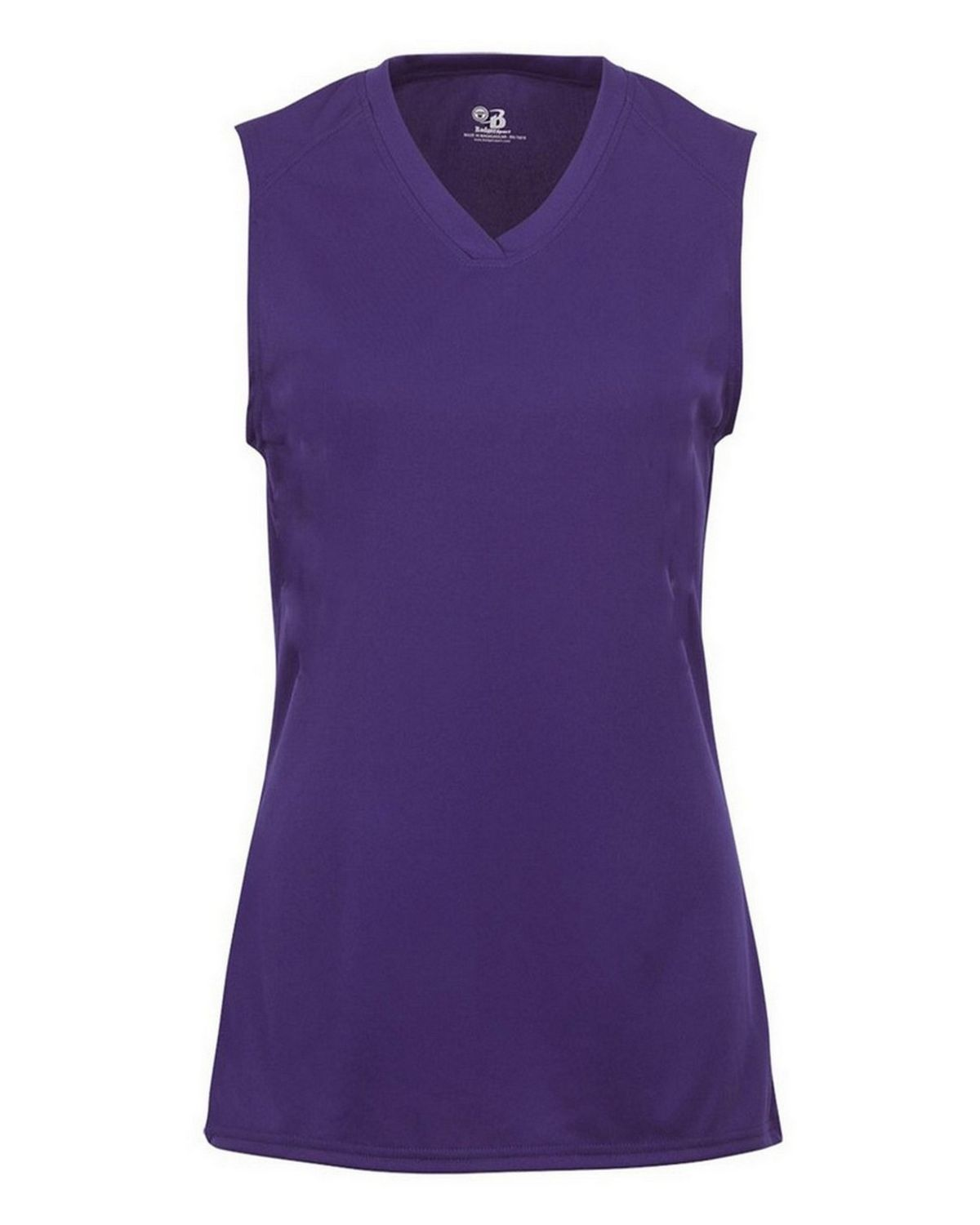 Badger 2163 BD Girl BCore Sleeveless Tee - Purple - L 2163