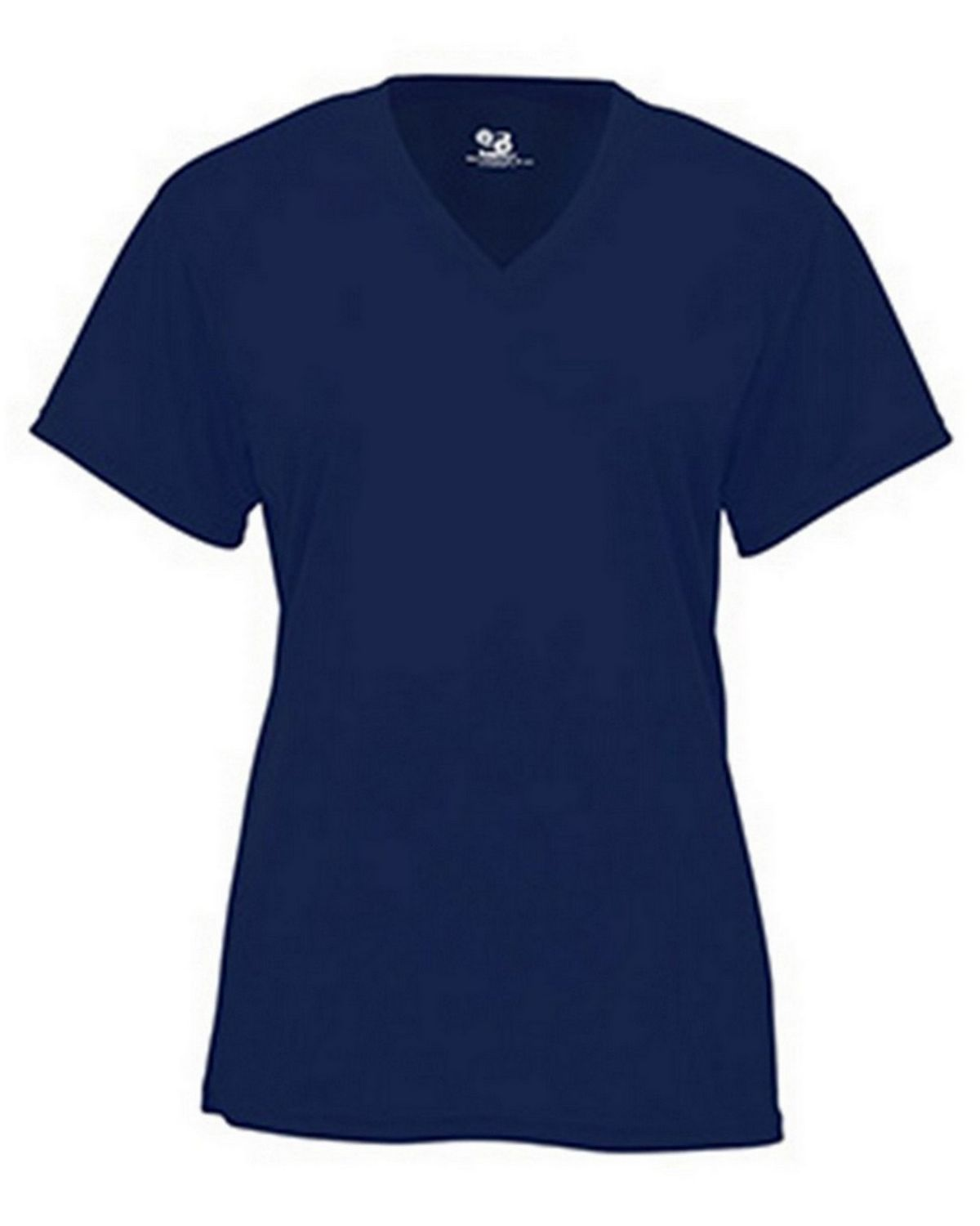 Badger BD4162 Ladies Short Sleeve Tee - Navy - 2X BD4162