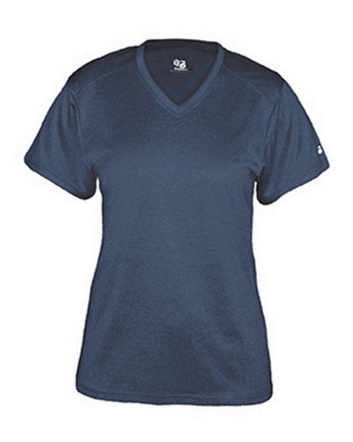 Badger BD4362 Ladies V-Neck Tee - Navy - 2X BD4362
