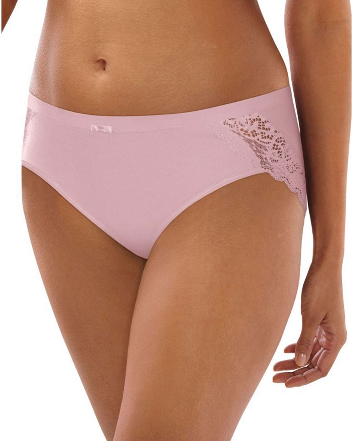 Bali DFCD63 Cotton Hipster Panty - Champagne Shimmer - 9 DFCD63