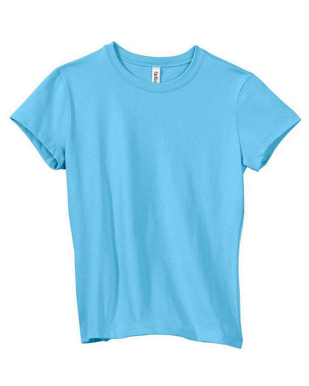 Bella + Canvas 6000 Ladies Jersey T-Shirt - Light Aqua - XL 6000