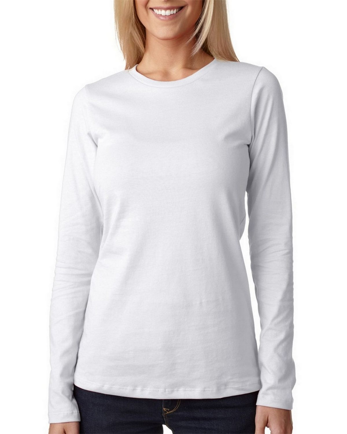 Bella + Canvas 6450 Ladies Relaxed Jersey Tee - White - XL 6450