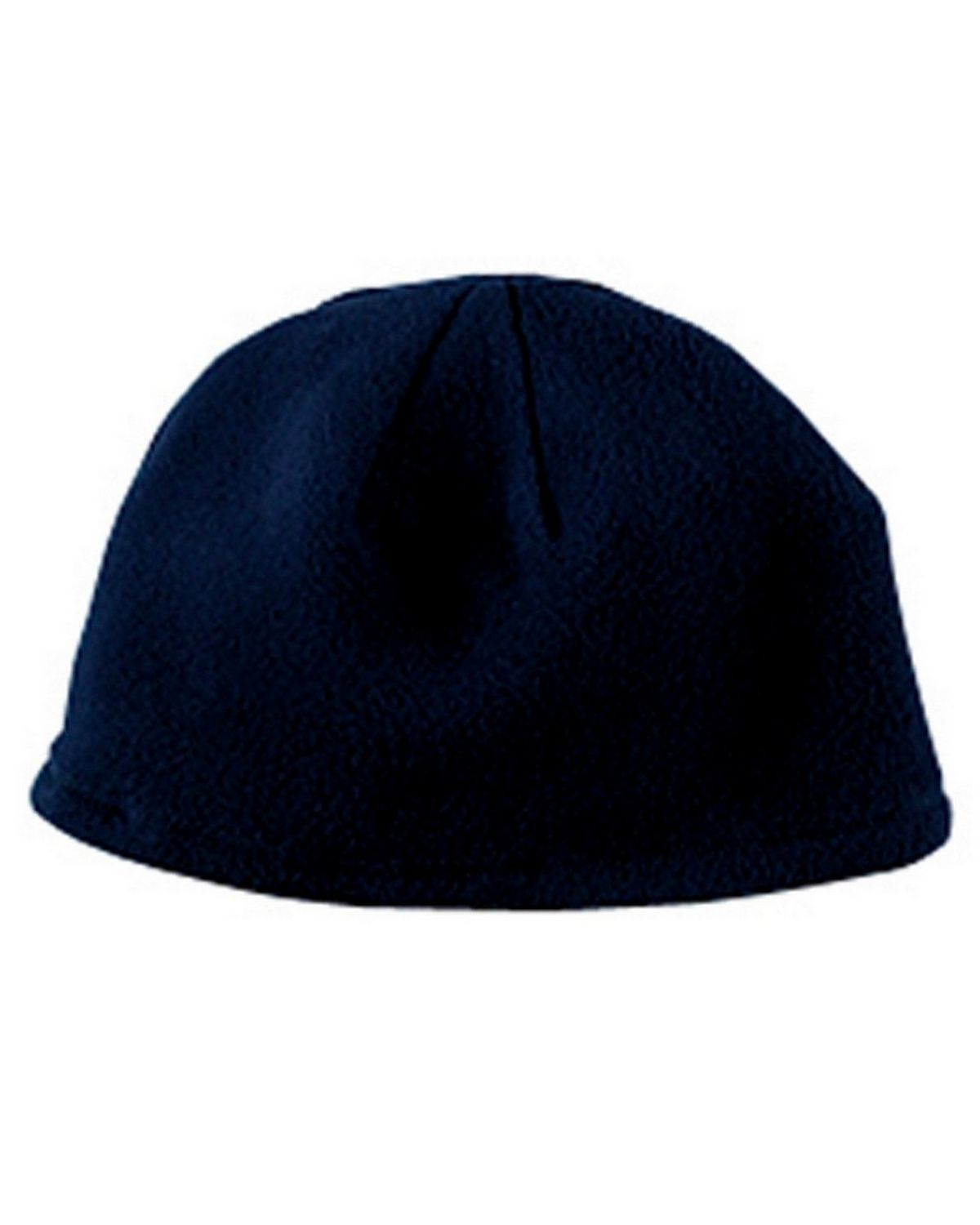 Big Accessories BX013 Knit Fleece Beanie - Navy - One Size BX013