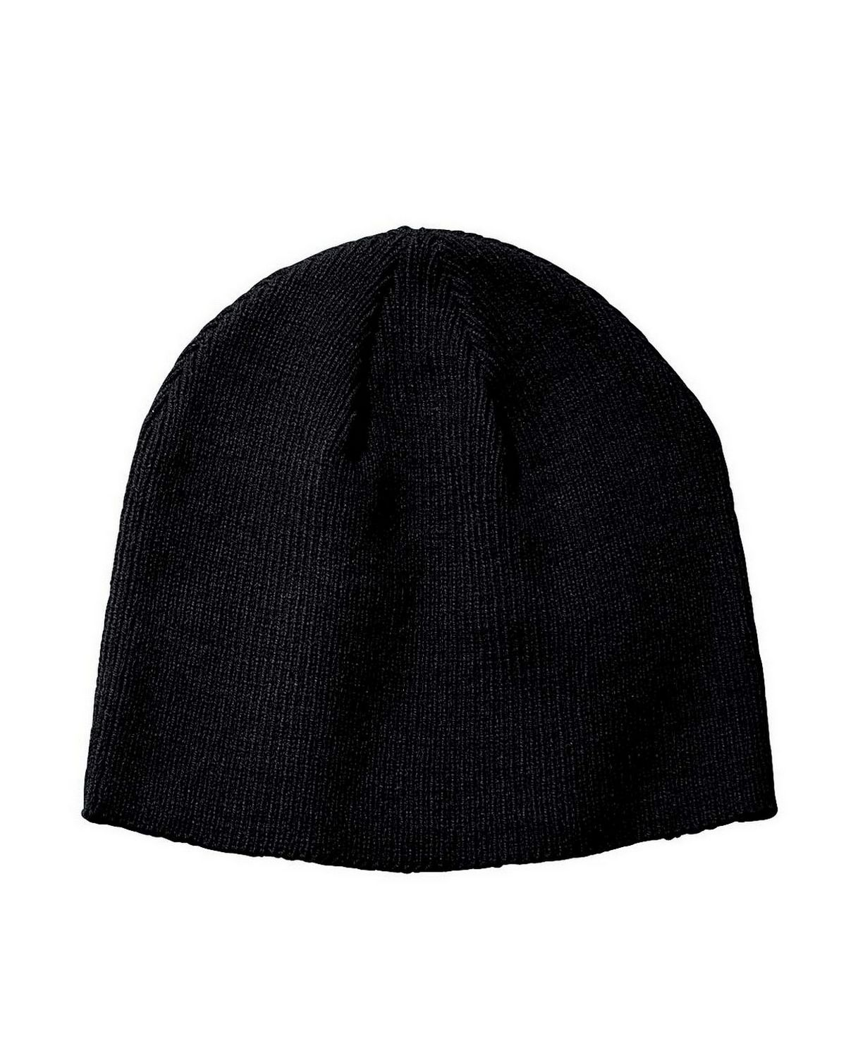 Big Accessories BX026 Knit Beanie - Grey - One Size BX026