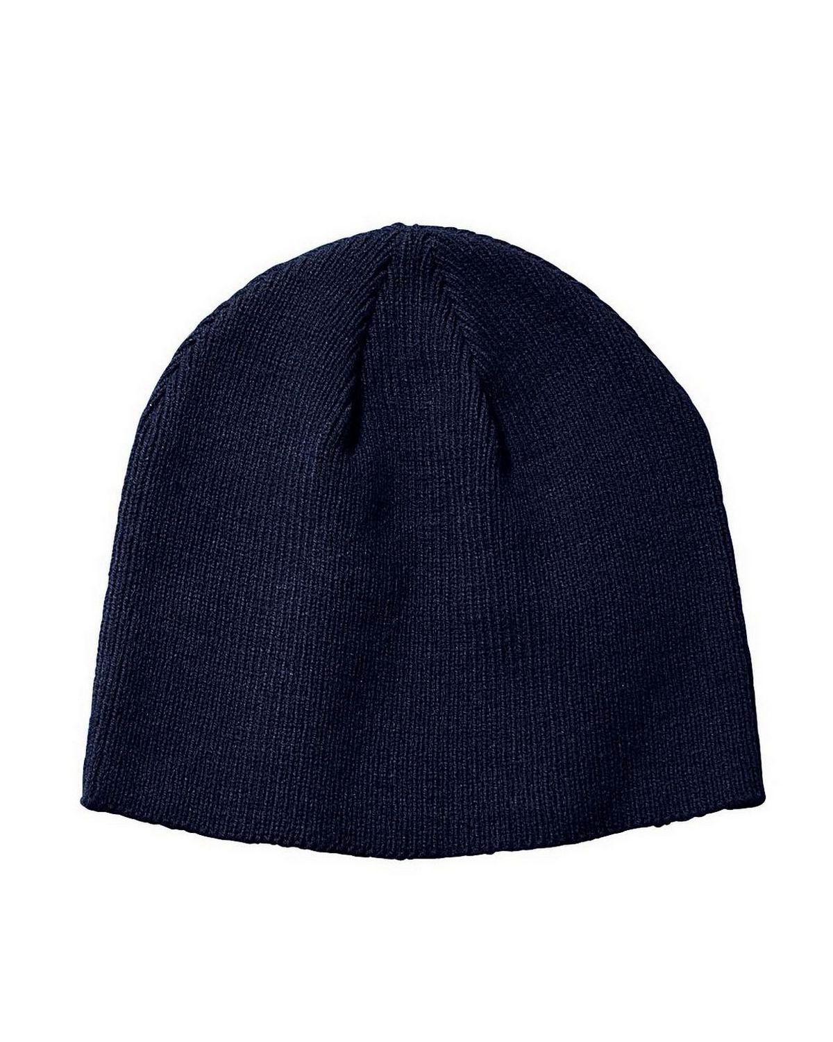 Big Accessories BX026 Knit Beanie - Navy - One Size BX026