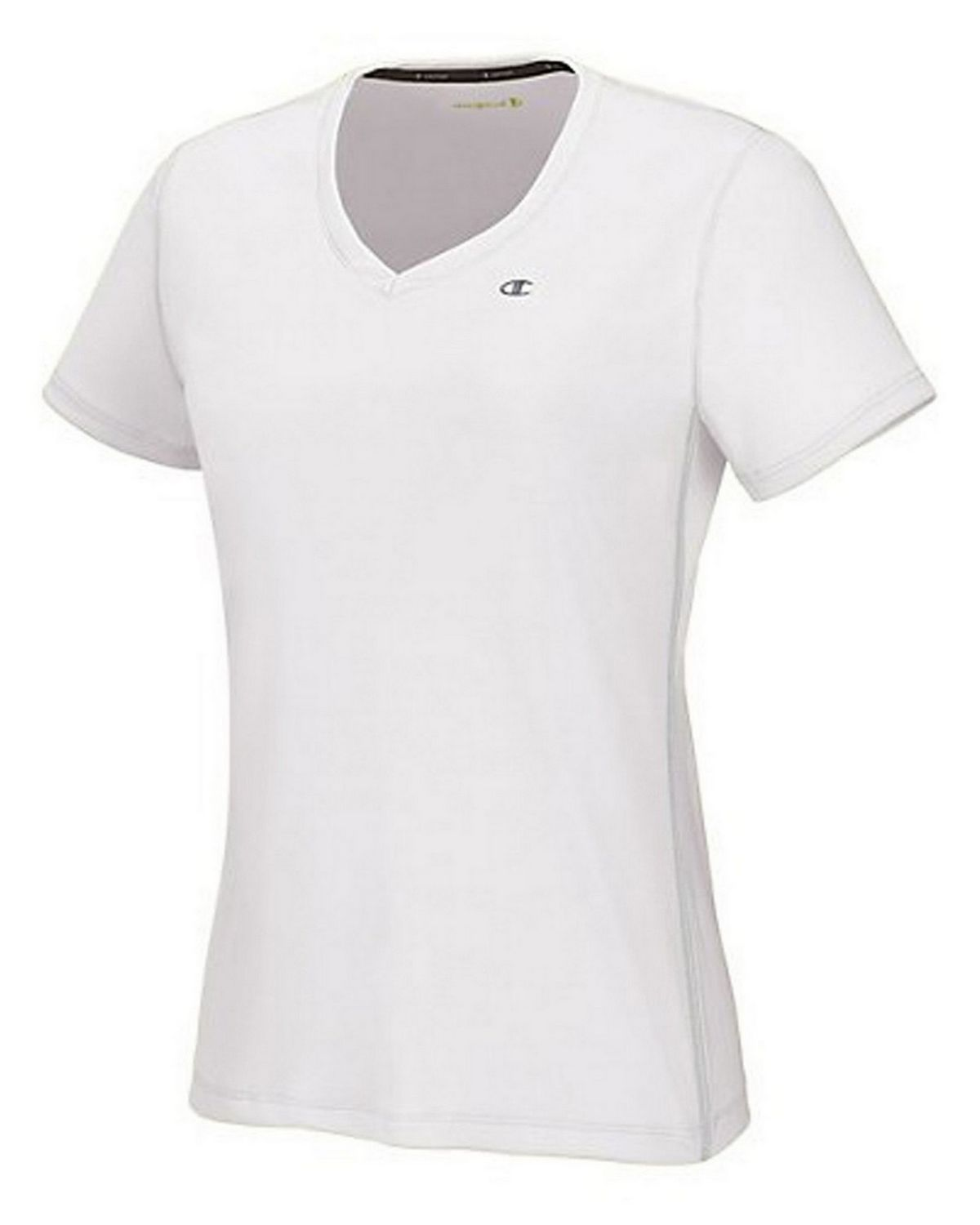 Champion 7664 Vapor PowerTrain Womens Tee - White - S 7664