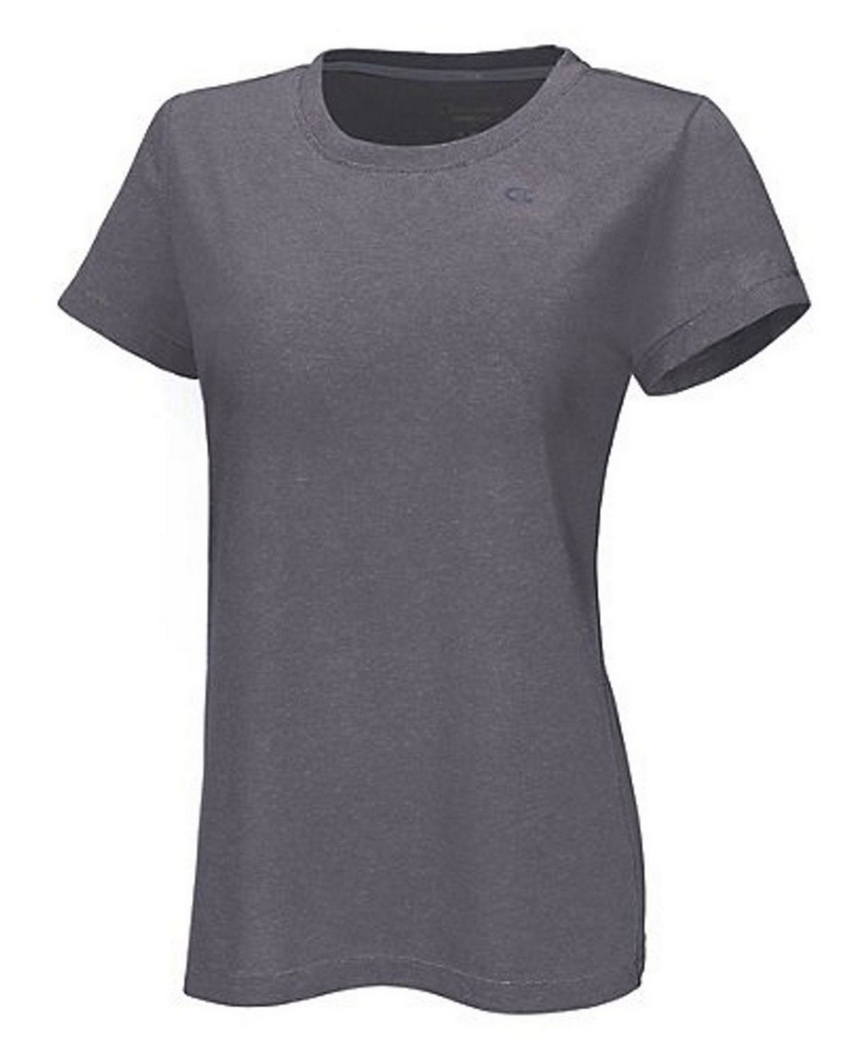 Champion 7963 Vapor PowerTrain Short Sleeve Heather Tee - Granite Heather - L 7963