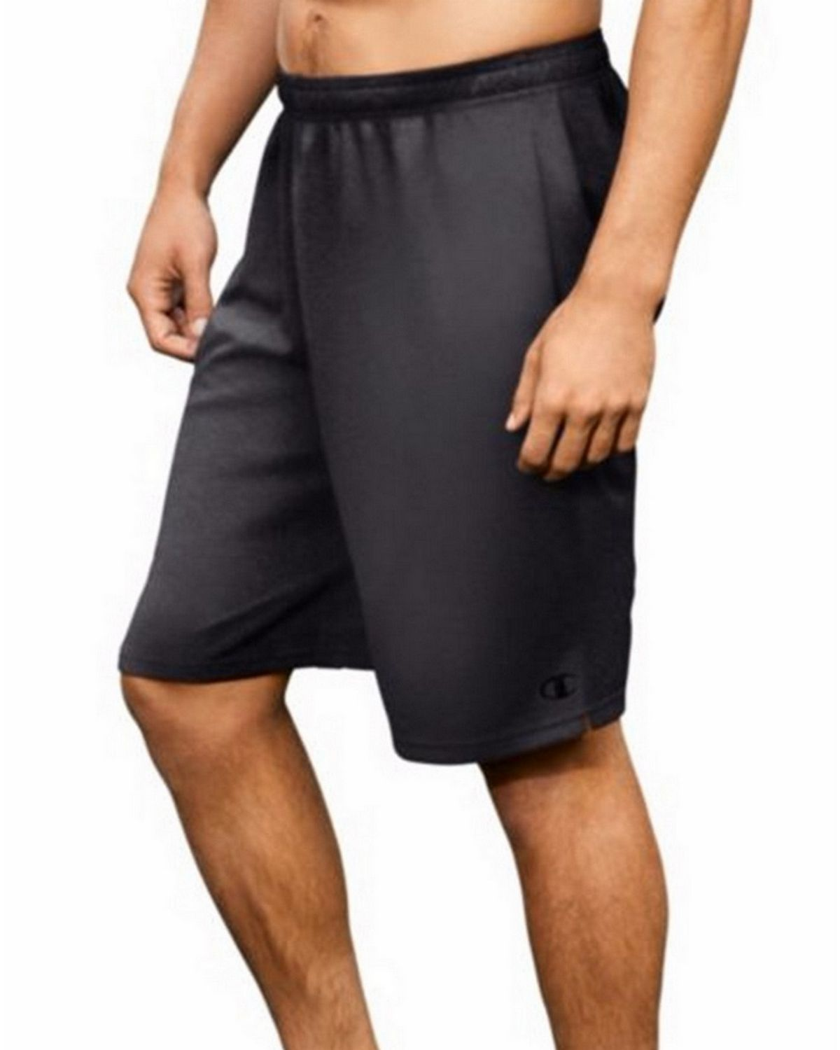 Champion 80296 Core Training Shorts - Granite Heather - L 80296