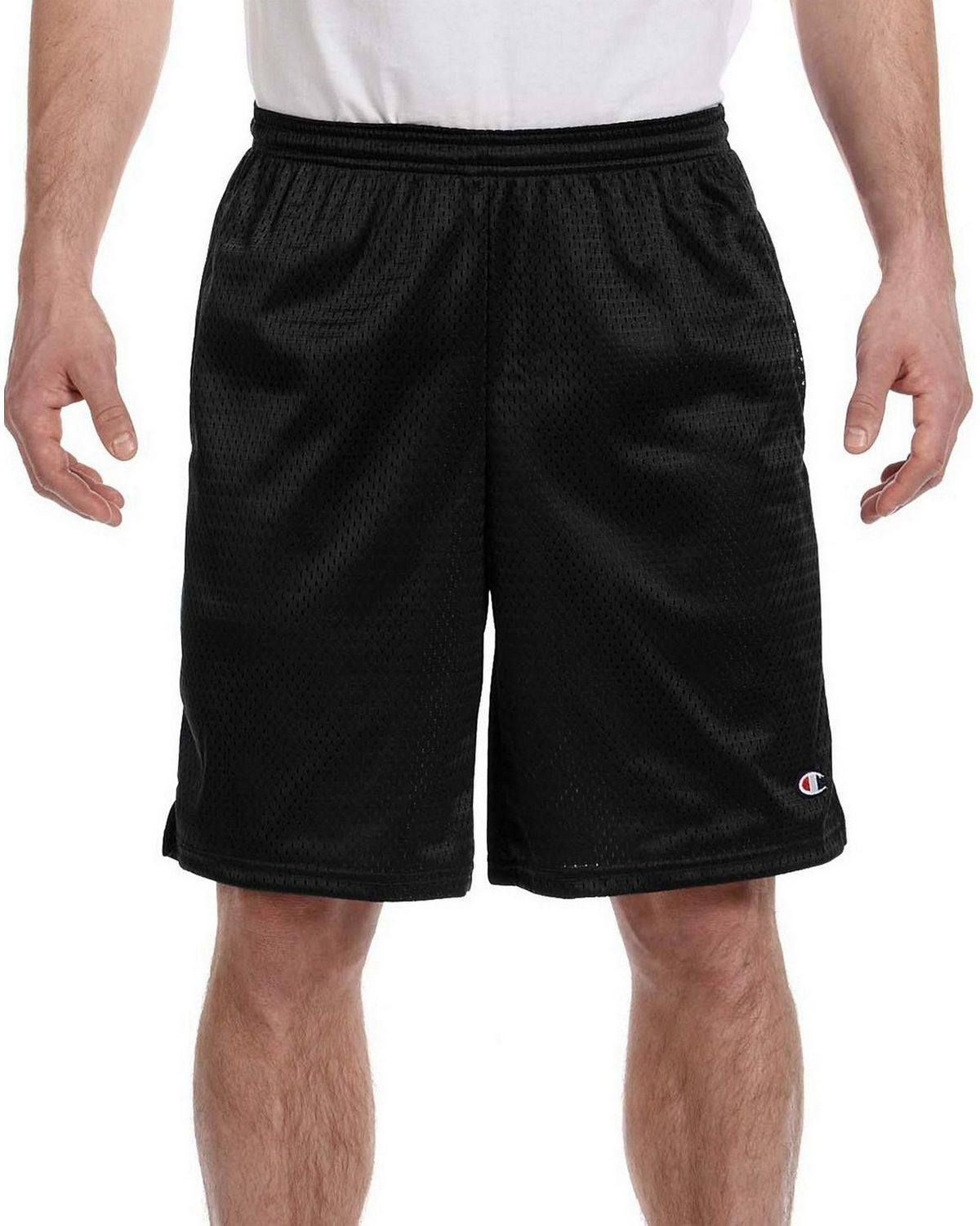 Champion 81622 Shorts with Pockets - Black - XL 81622