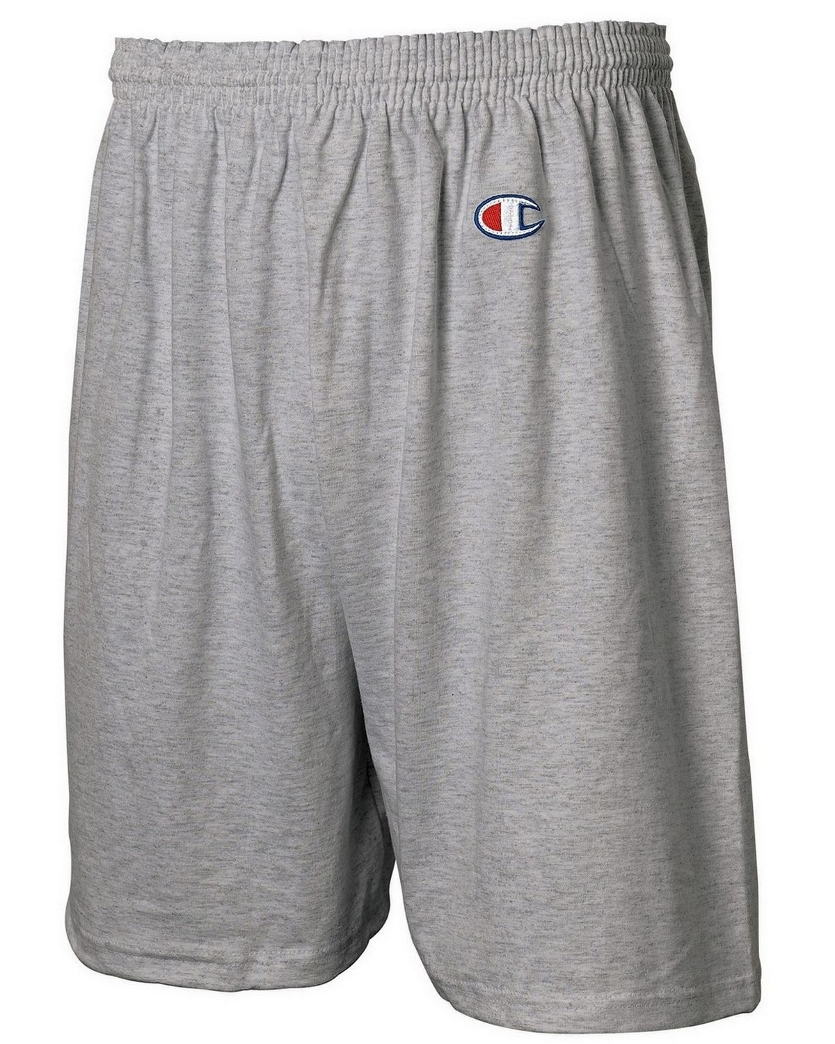 Champion 8187 Ringspun Gym Shorts - Oxford Grey - S 8187