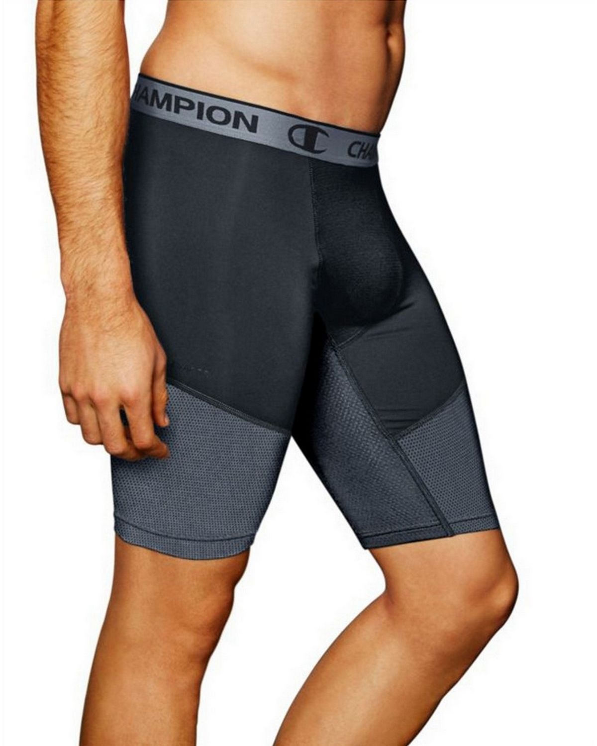 Champion 84956 PowerFlex 9 Mens Shorts - Stealth/Stormy Night - M 84956