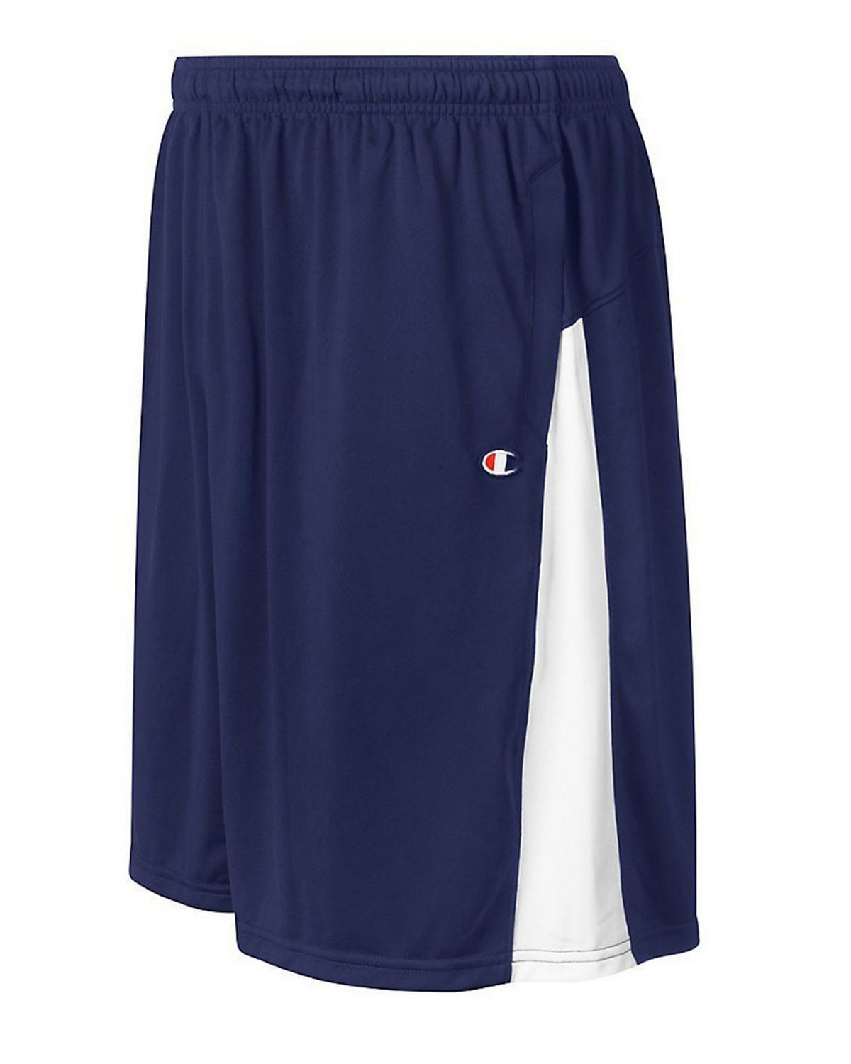 Champion 8508 Mens Double Dry Short - Navy/White - S 8508