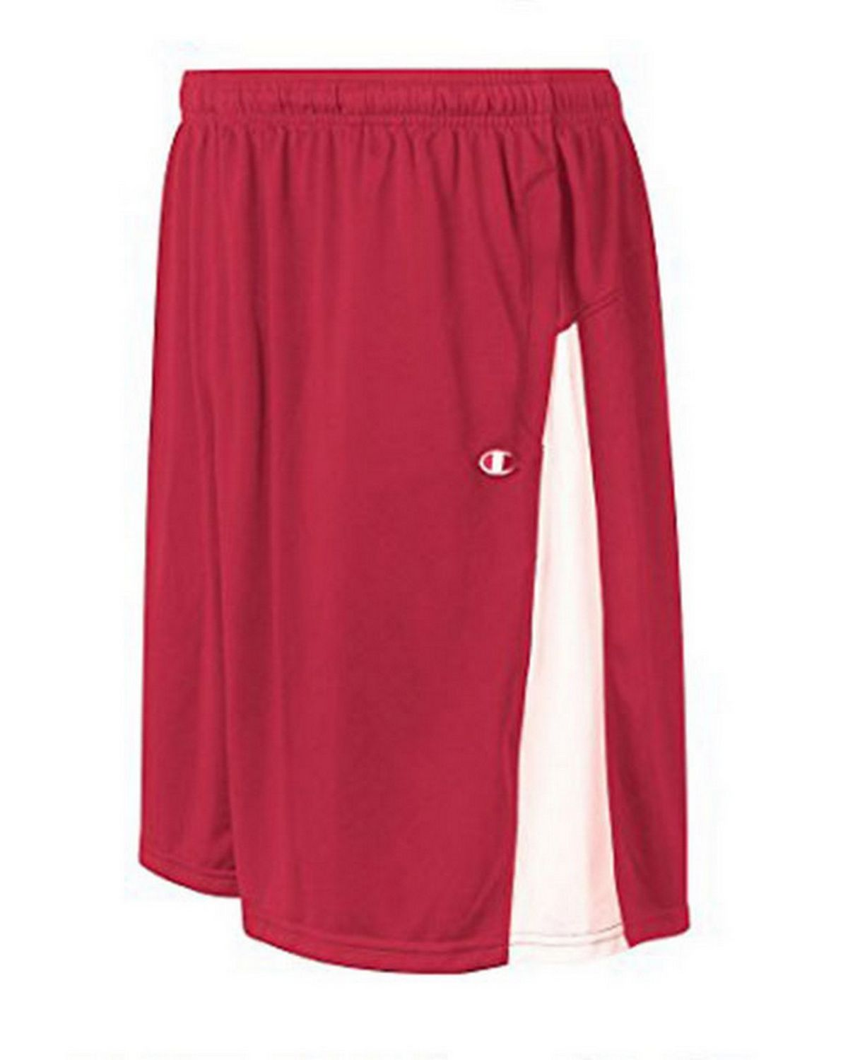 Champion 8508 Mens Double Dry Short - Scarlet/White - L 8508