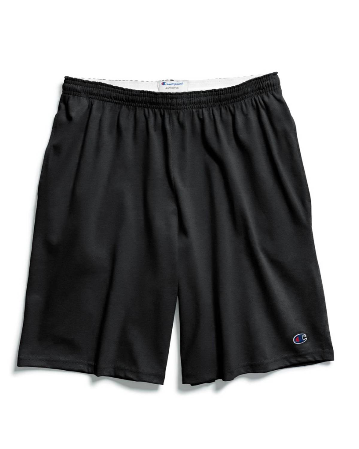 Champion 85653 Authentic Mens Shorts with Pockets - Black - M 85653
