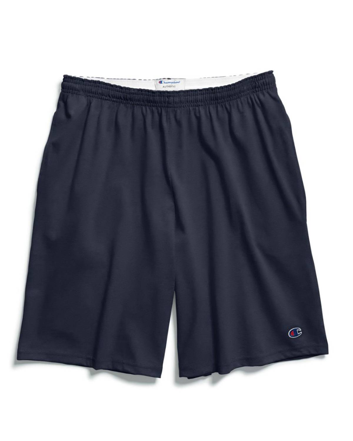 Champion 85653 Authentic Mens Shorts with Pockets - Navy - L 85653