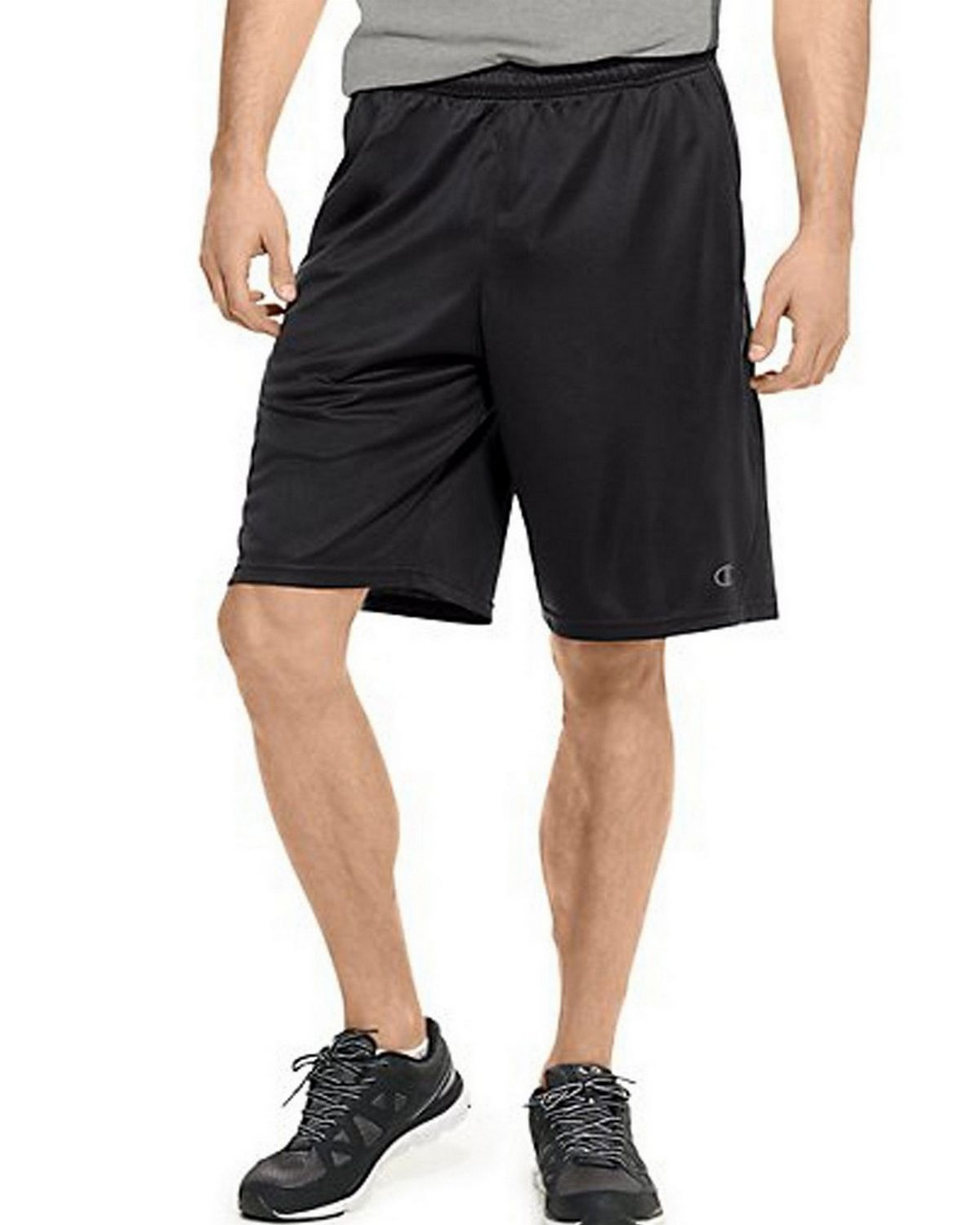 Champion 86703 Vapor PowerTrain Knit Shorts - Black - S 86703