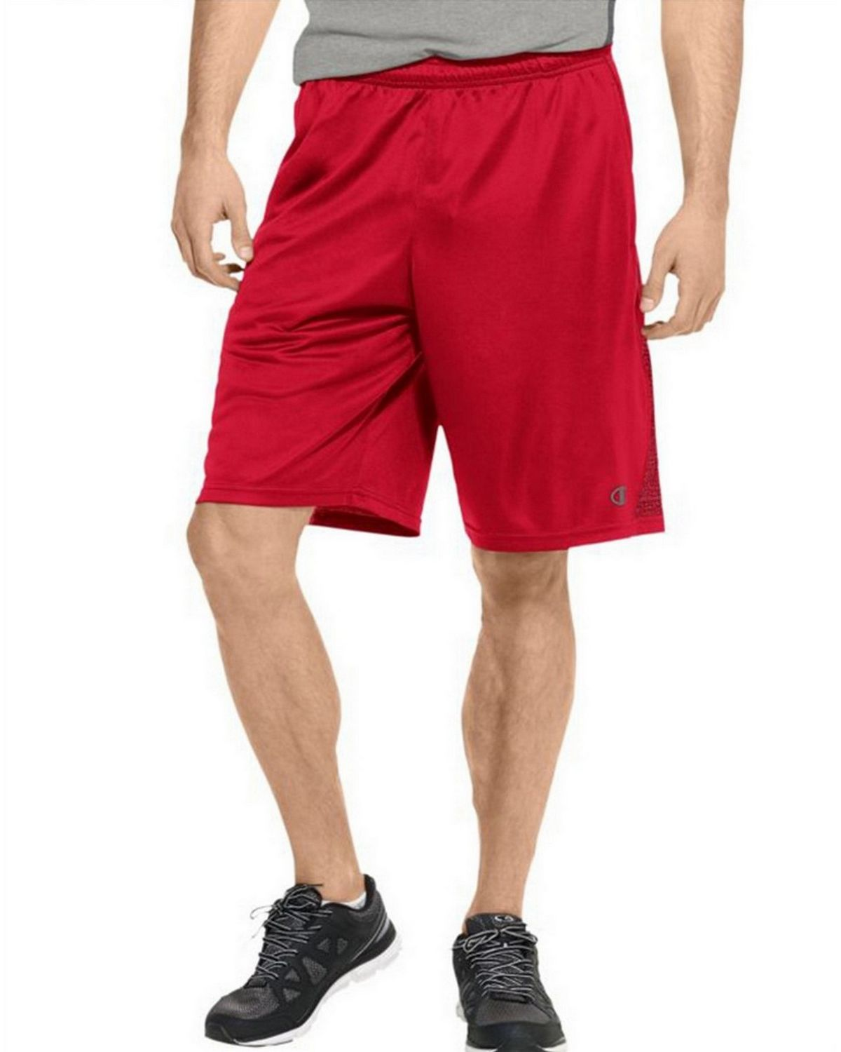 Champion 86703 Vapor PowerTrain Knit Shorts - Champion Scarlet - L 86703