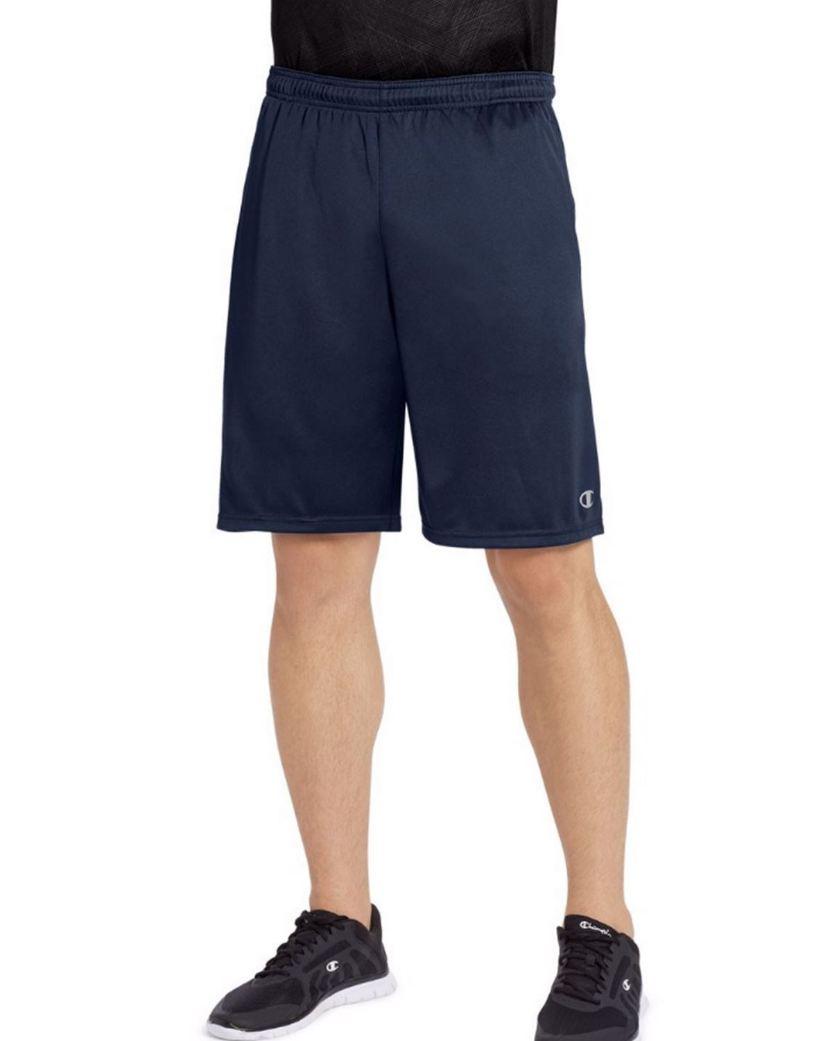 Champion 88125 Vapor Mens Shorts - Navy - L 88125