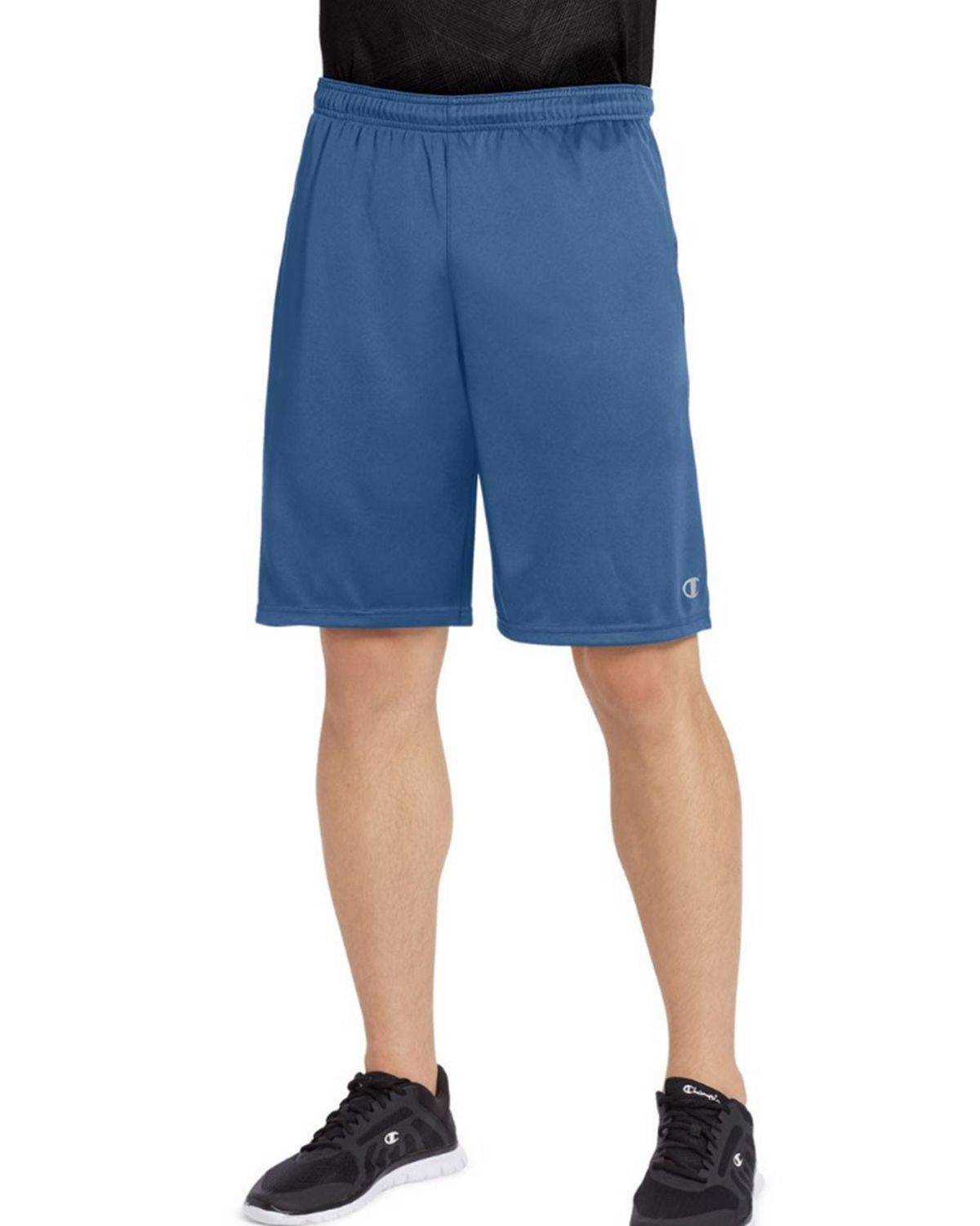 Champion 88125 Vapor Mens Shorts - Seabottom Blue/Navy - L 88125