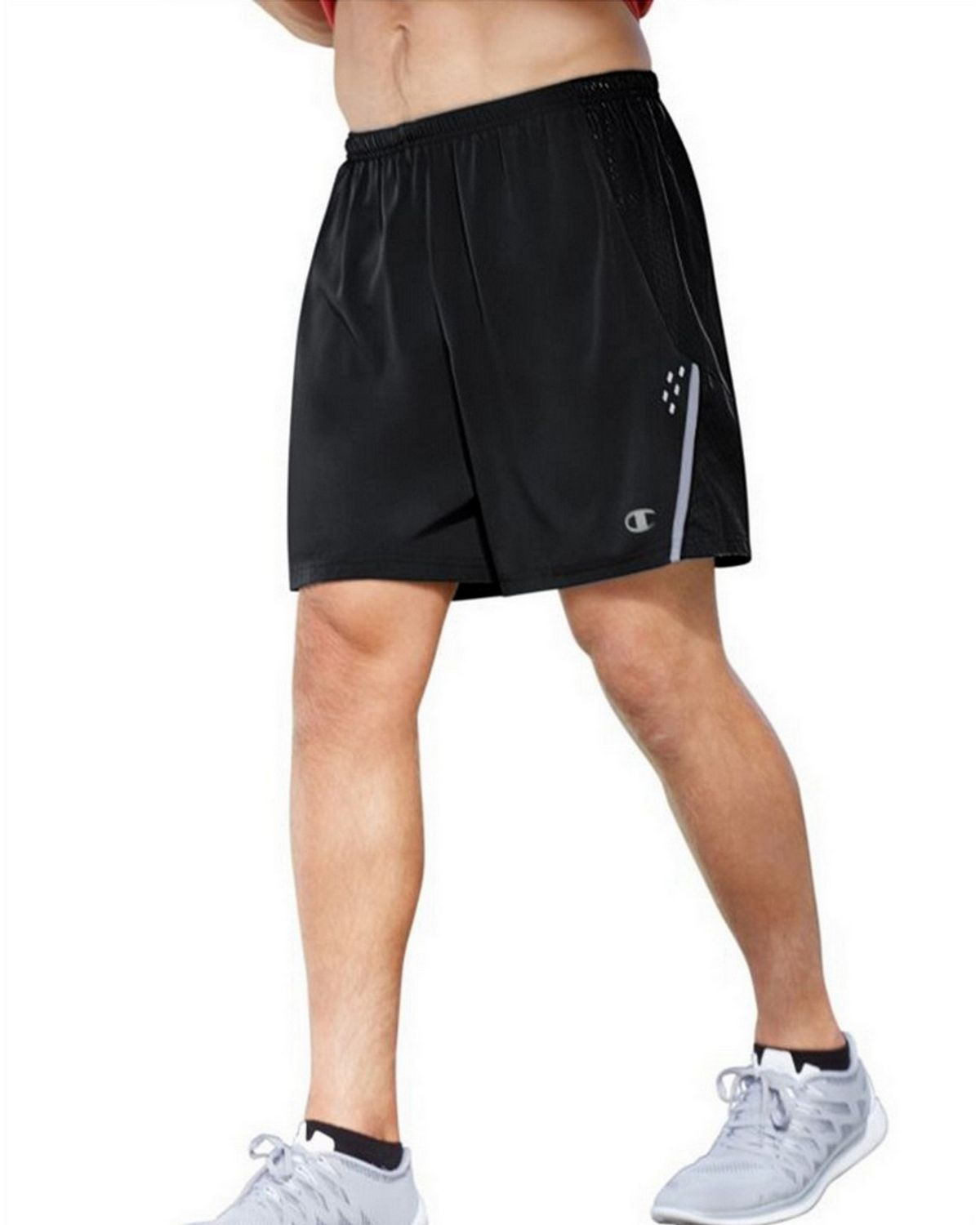 Champion 88898 Mens Marathon Shorts - Black/Stealth - S 88898