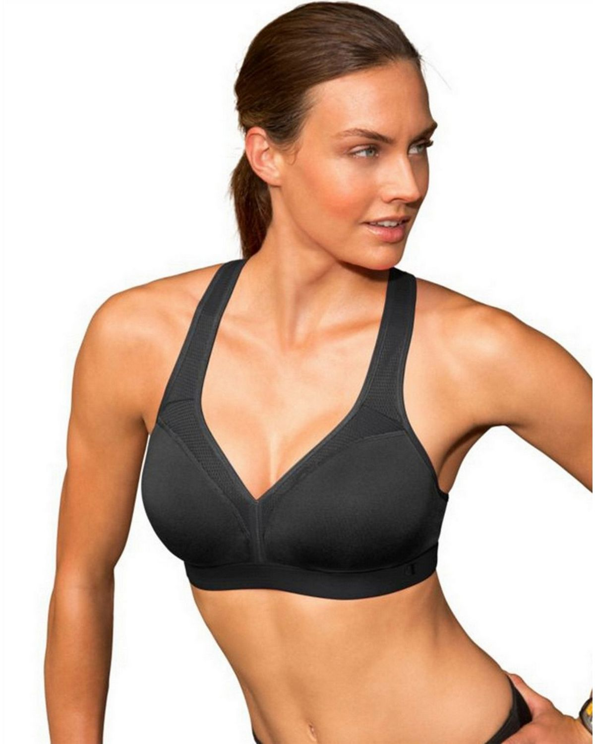 Champion B9373 Show-Off Bra - Black - XS B9373