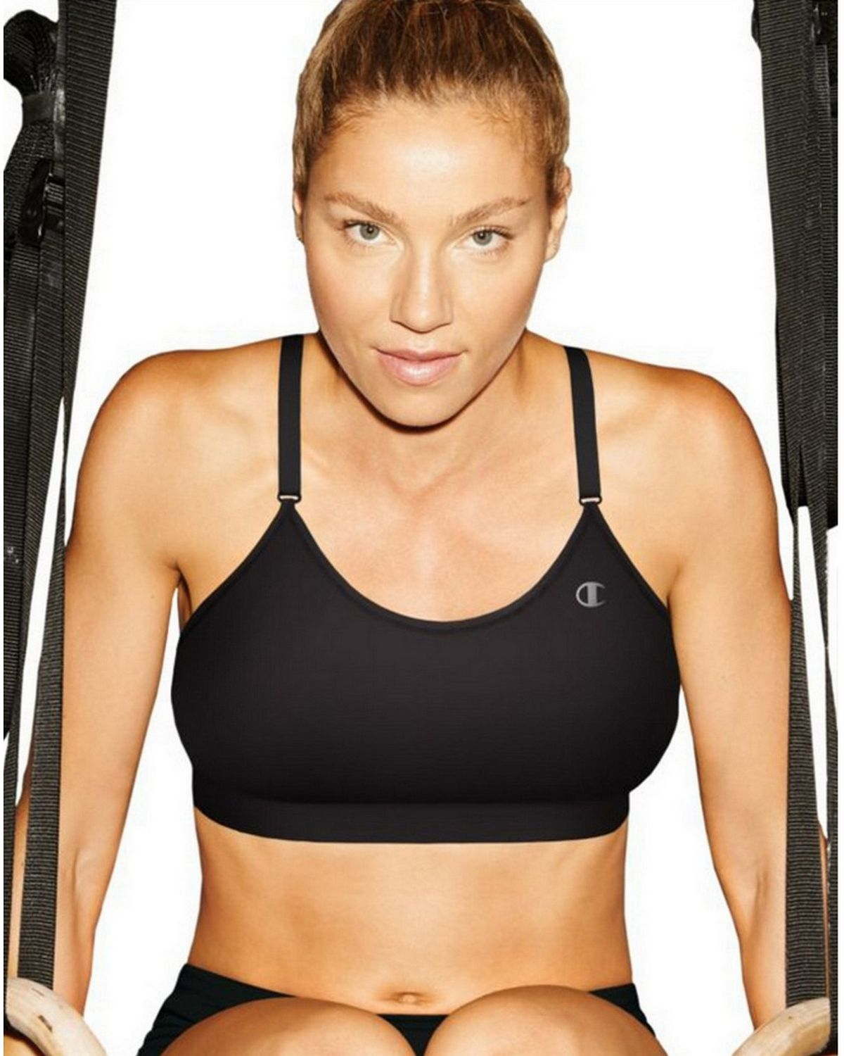 Champion B9500 Absolute Cami Sports Bra - Black - L B9500