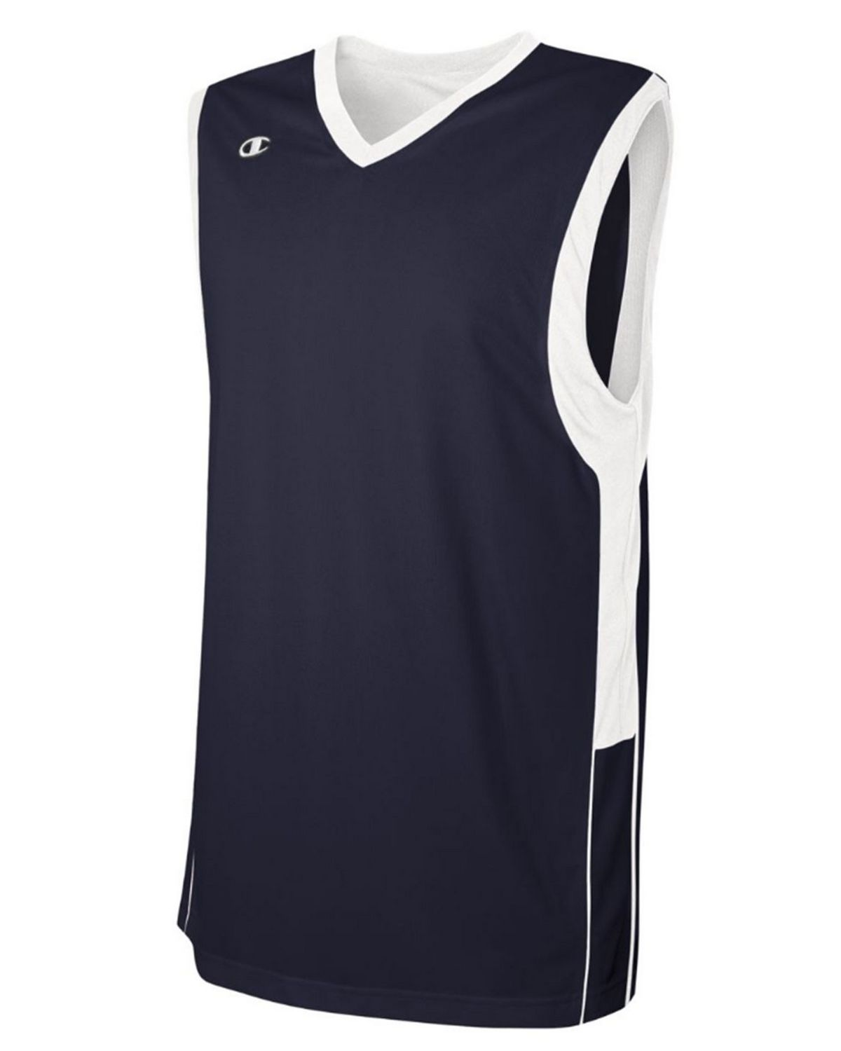 Champion BB02 Mens Game Jersey - Athletic Navy/White - YM BB02